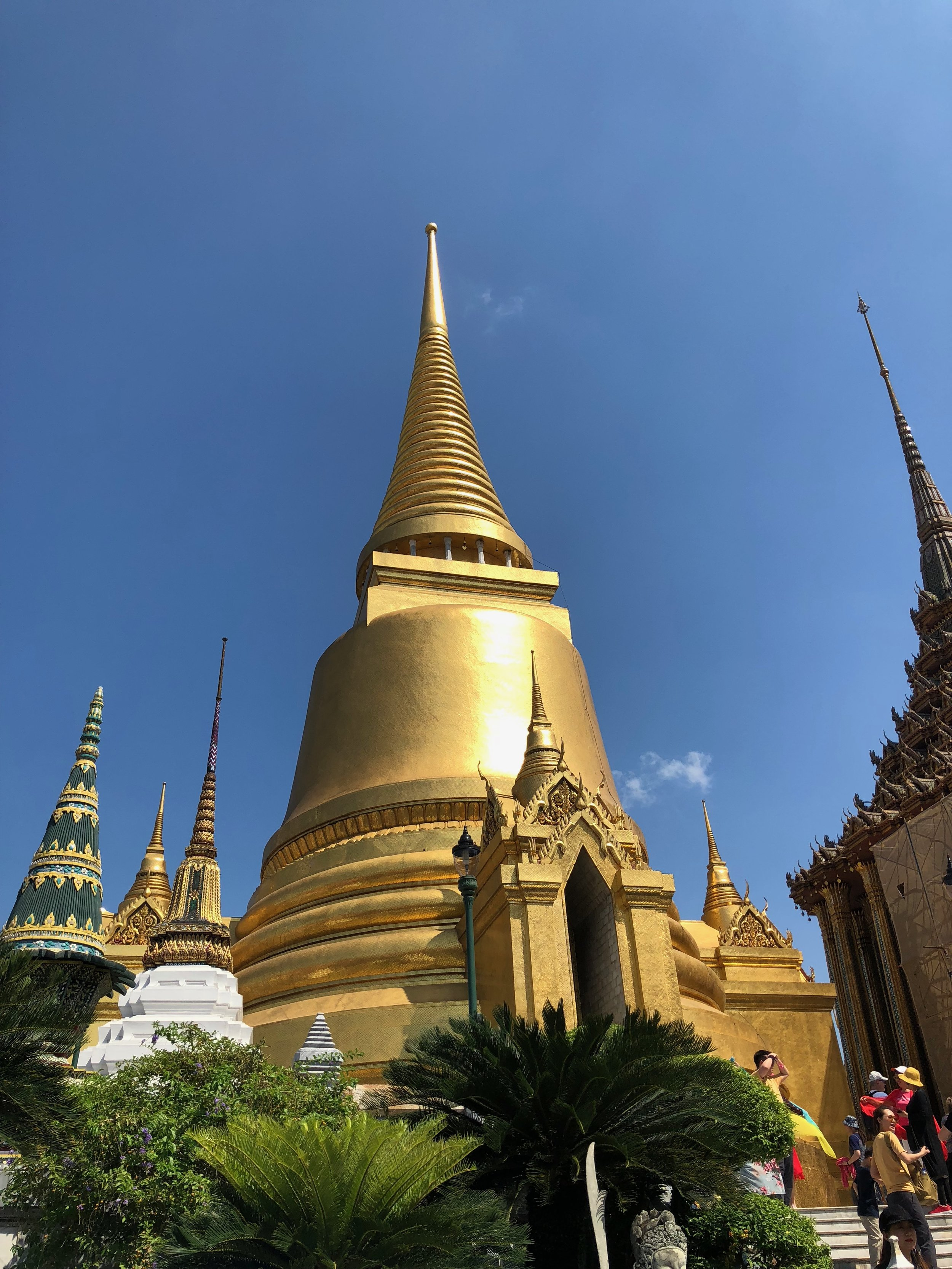 This golden spire was one of the highlights of my exploration of the Grand Palace.