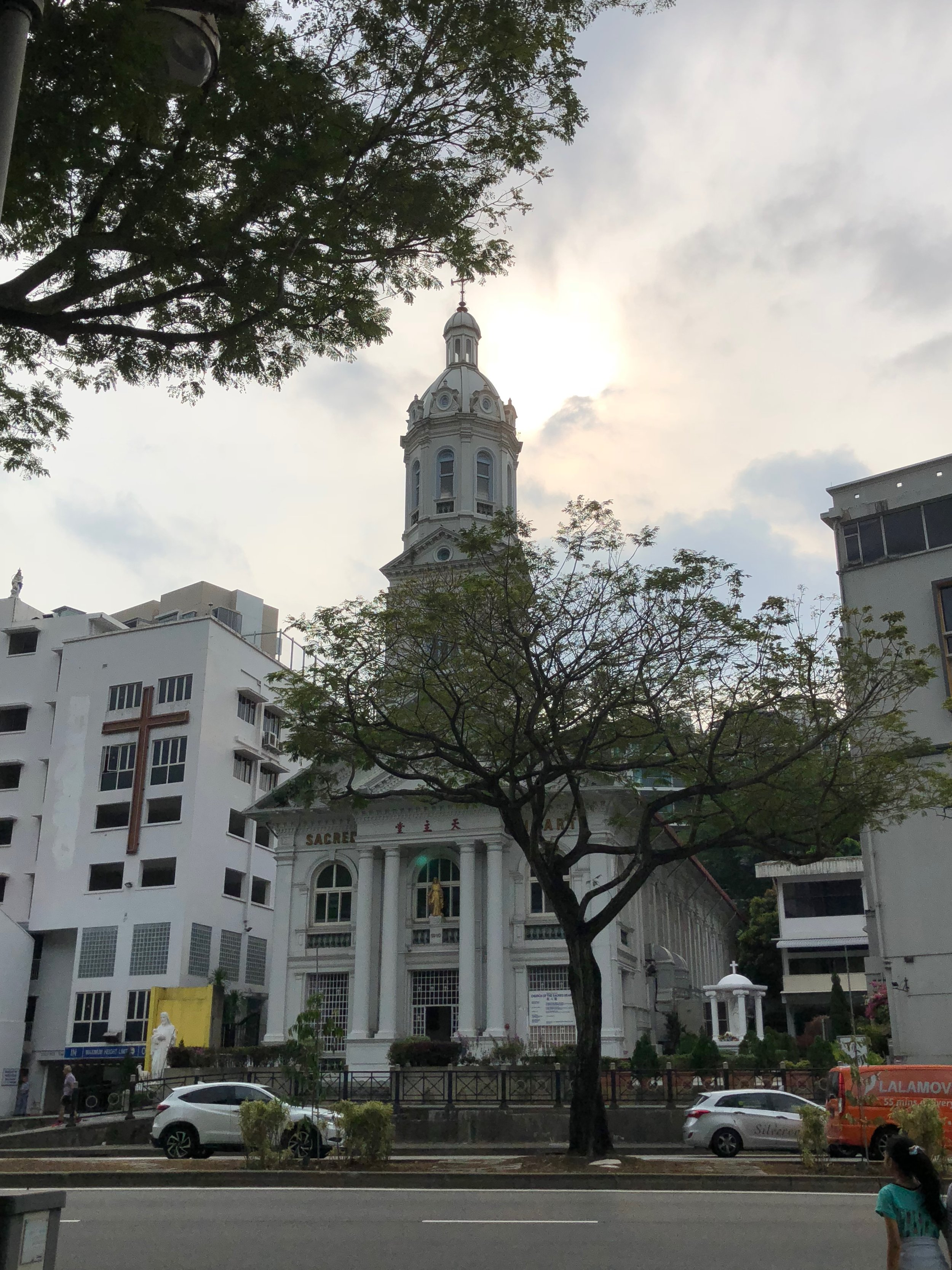 Una iglesia bonita que encontré en Singapur. Me interesa cuando encuentro iglesia cristianos cuando estoy en un país tan exótico como Singapur.