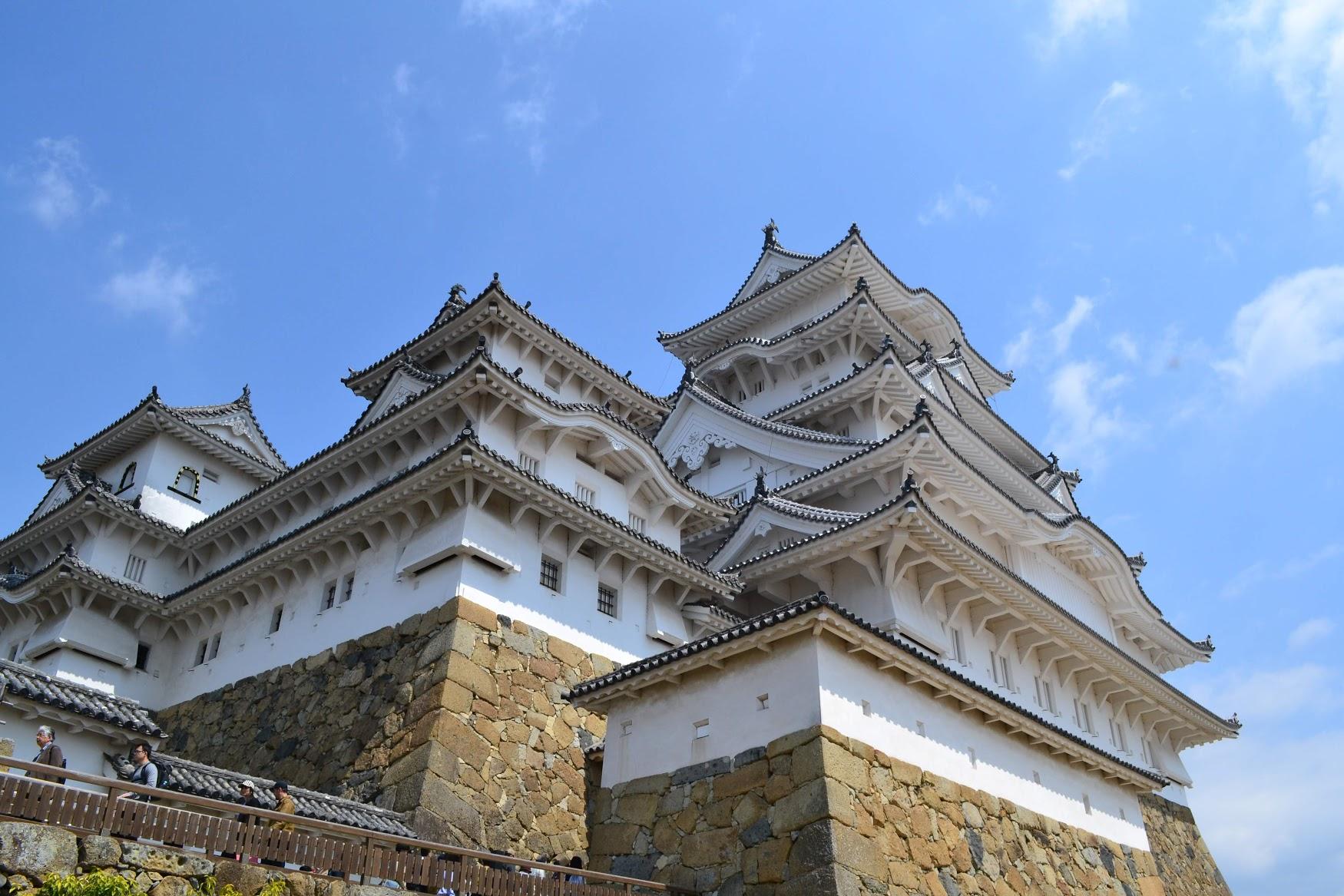 Después de salir de adentro del castillo, se podía ver al castillo de cerca.