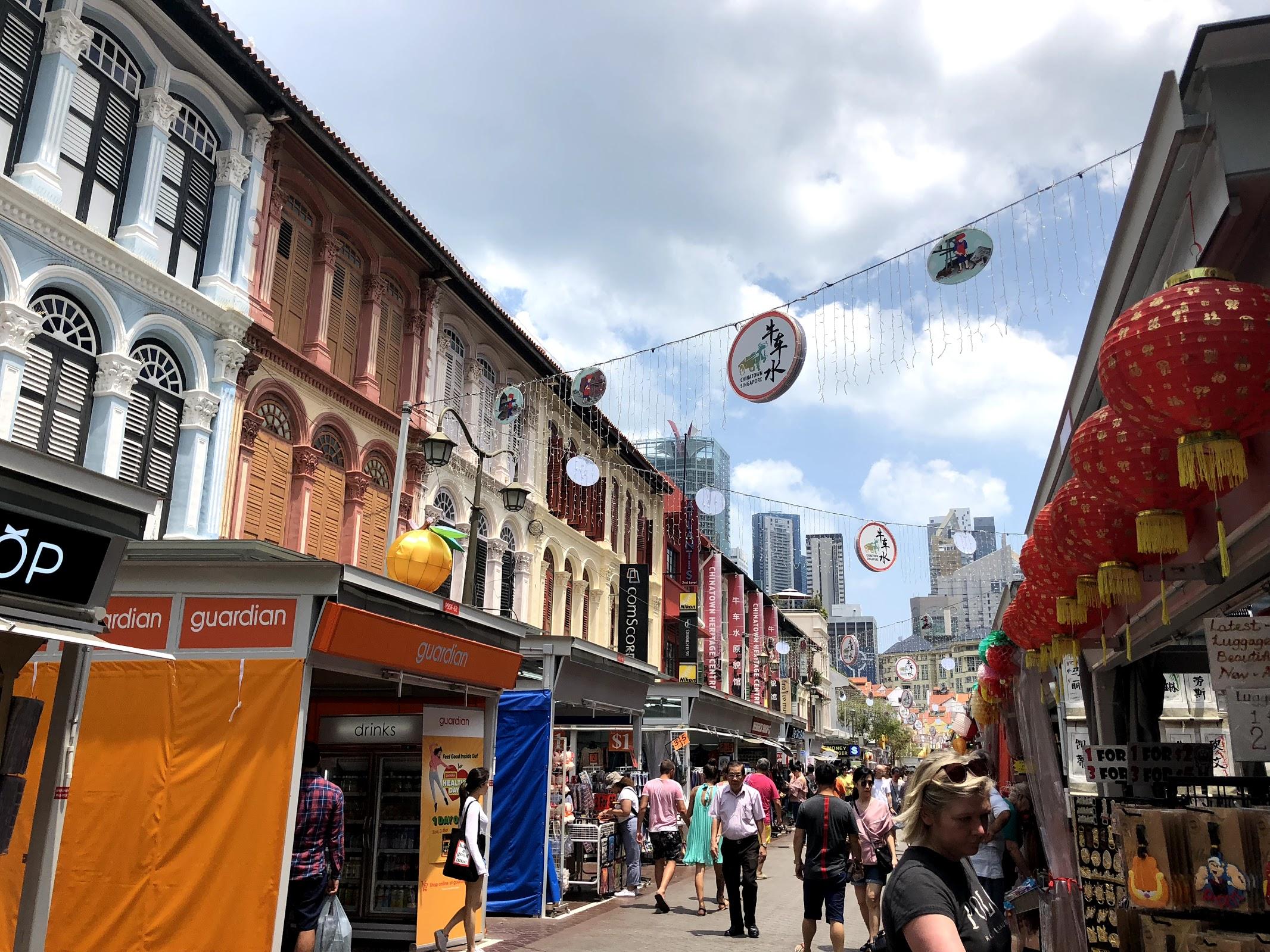 Walking through Pagoda Street!
