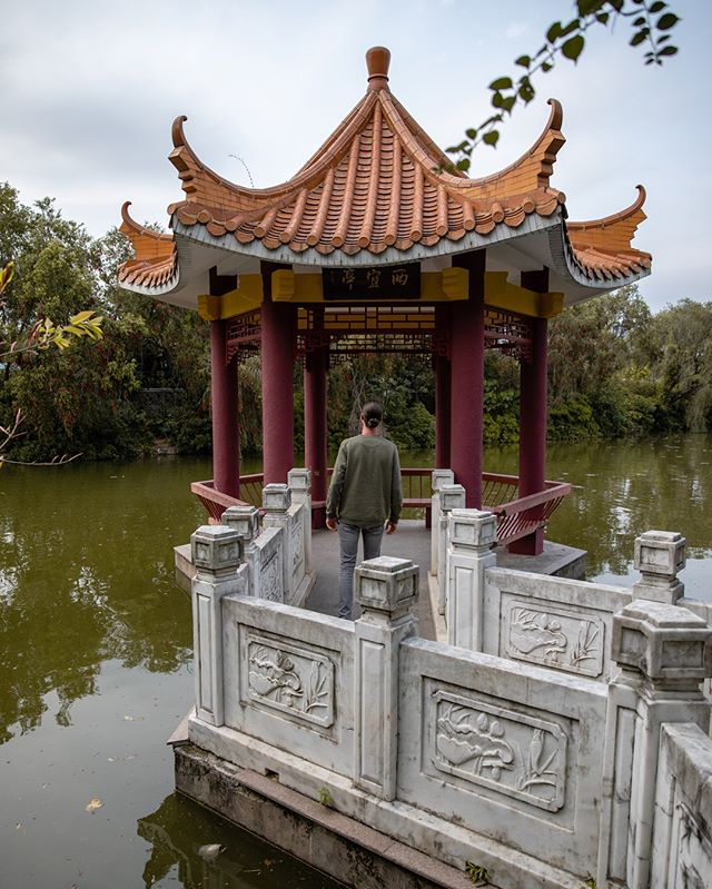 Which culture should we visit next? • It's crazy to see all those typical structures everywhere! For the people of China these are just normal parks. For us it's magnificent! . . . . .  #mkexplore #shotzdelight #rsa_streetview #vscoportrait #urbanandstreet #gearednomad #uncalculated #symmetricalmonsters #quietthechaos #thecreative #yngkillers #instapassport #aroundtheworldpix #ig_masterpiece #campinassp #flashesofdelight #travelog #mytinyatlas #visualmobs #theglobewanderer #forahappymoment #chinatrip #chinatour #chinagram #travelinchina #chinatravel #unlimitedchina  #gemini