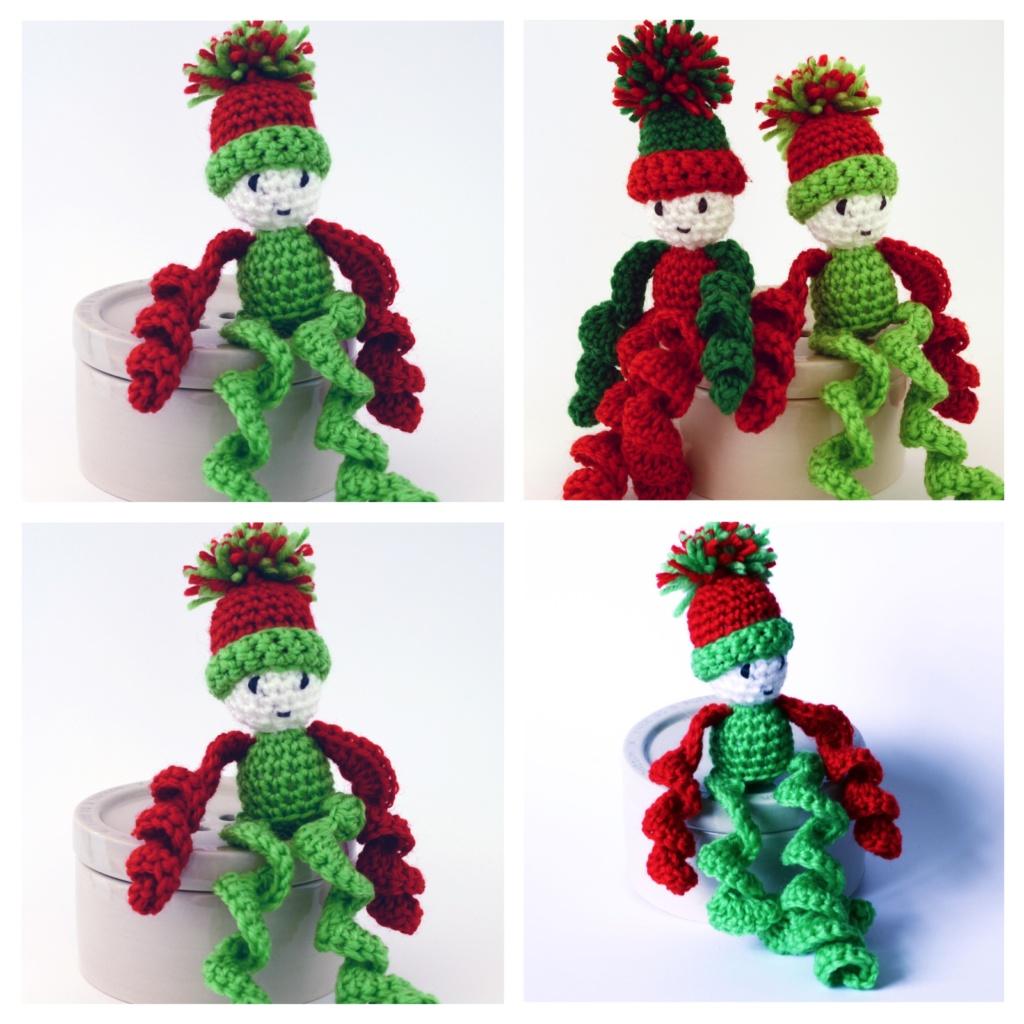 Ernie the Elf - Printed Crochet Pattern
