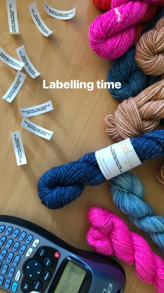 Label time