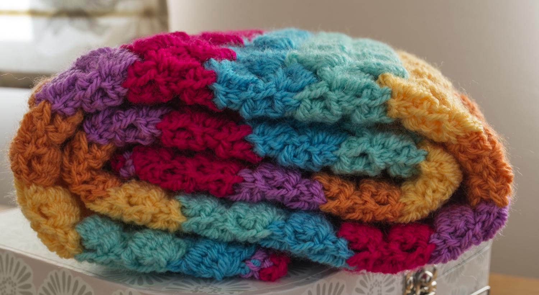 Bright Blanket Crochet Pattern