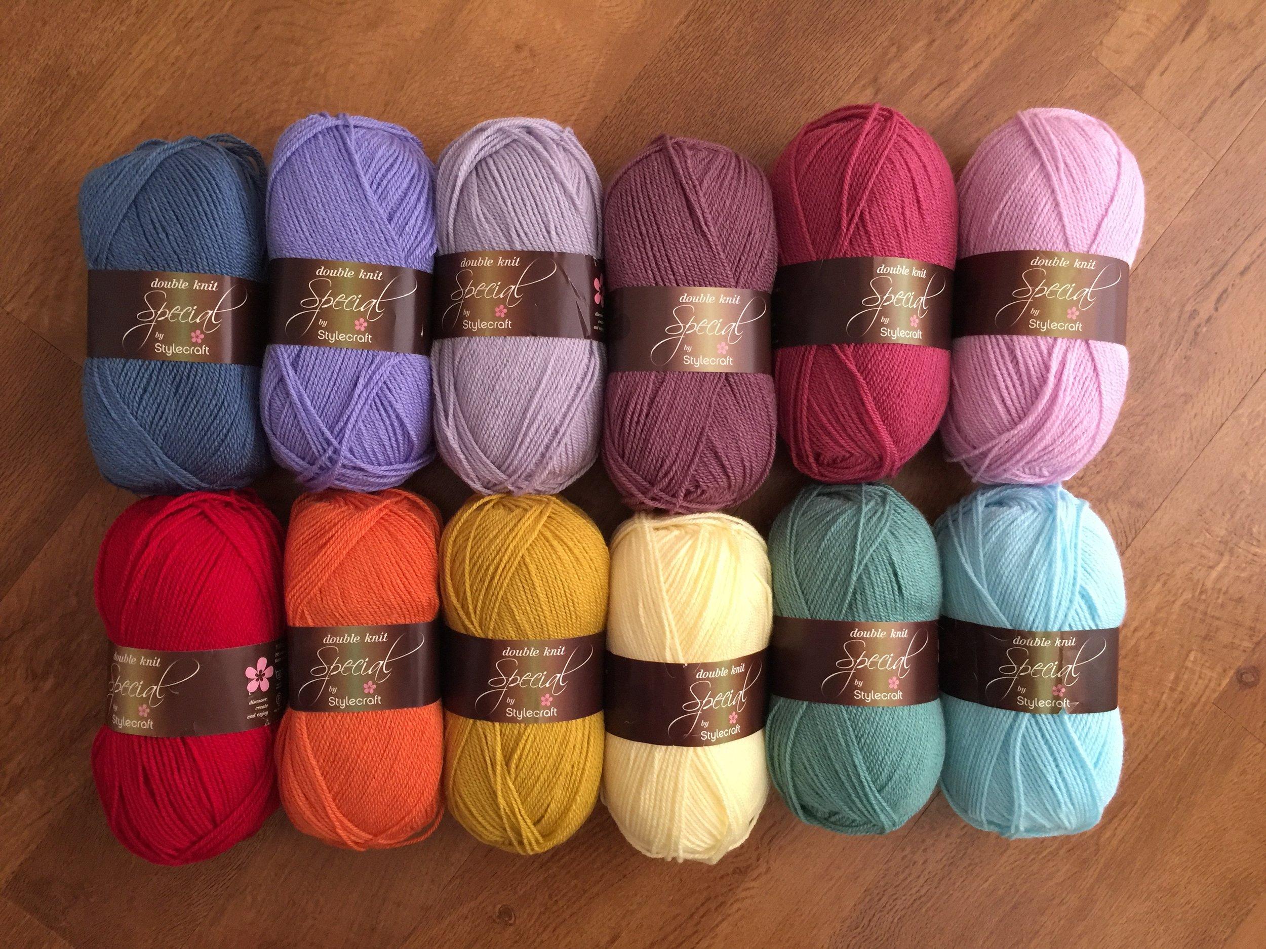 Louise's Blanket Yarn Pack