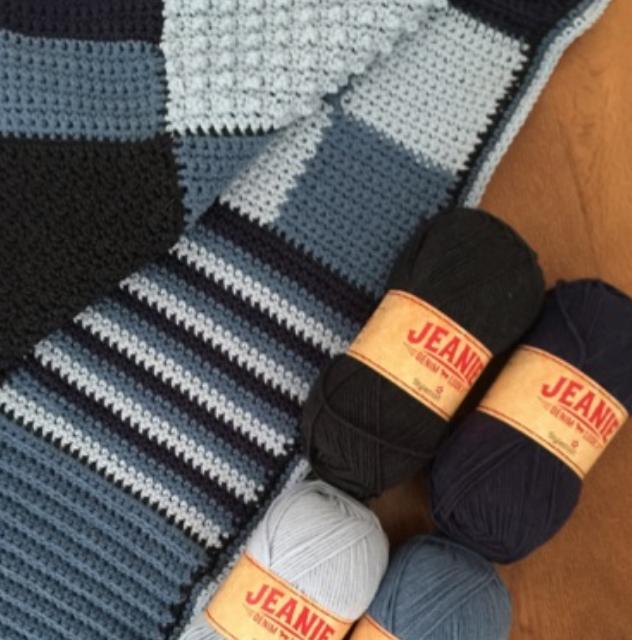 Jeanie Blanket - PDF Crochet Pattern£3.00