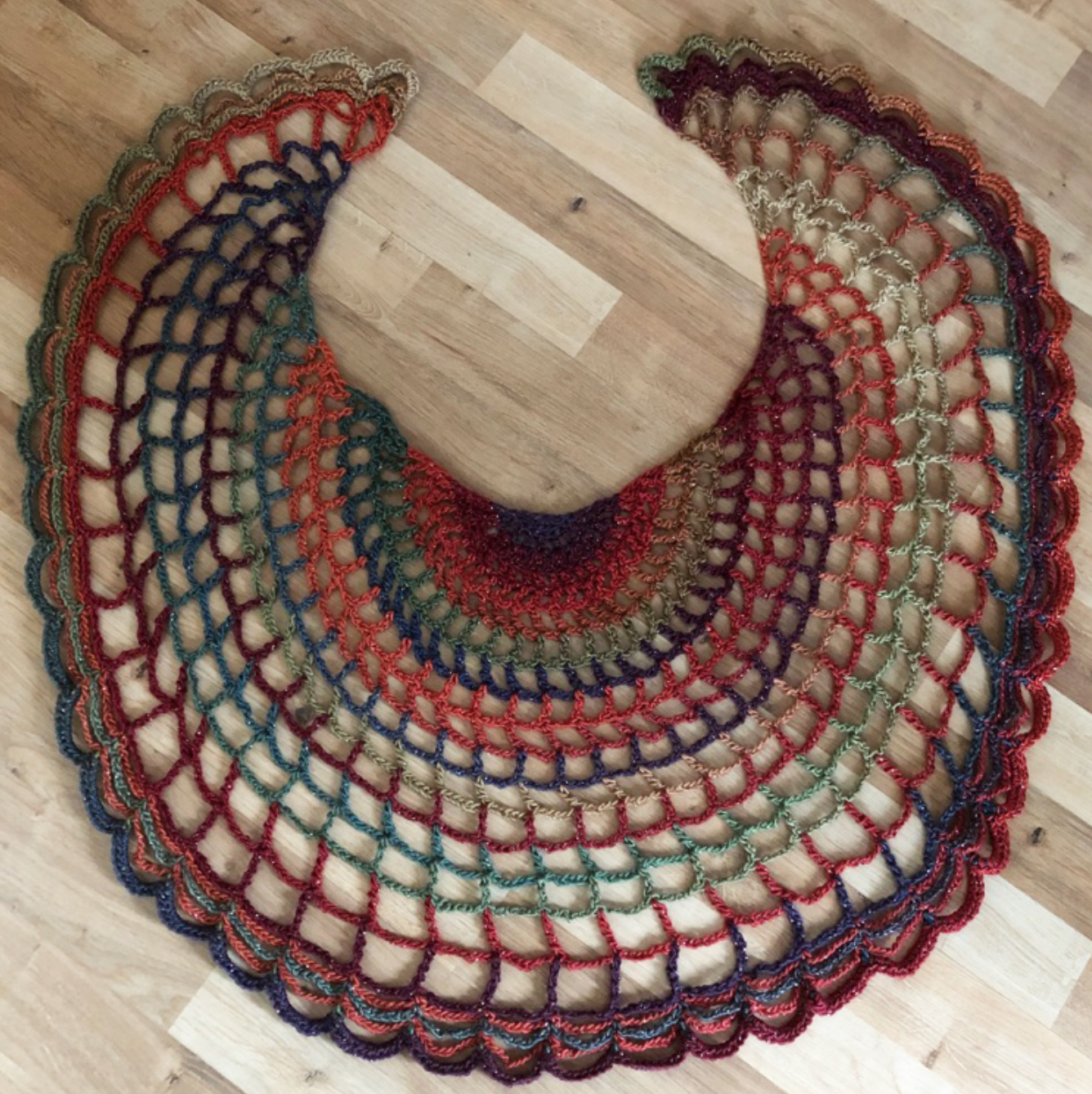 New Pattern Release - Swift Spider Scarf