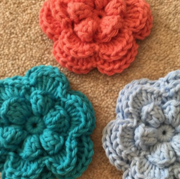 MAY FLOWER - This popular free flower pattern is now available on our website.