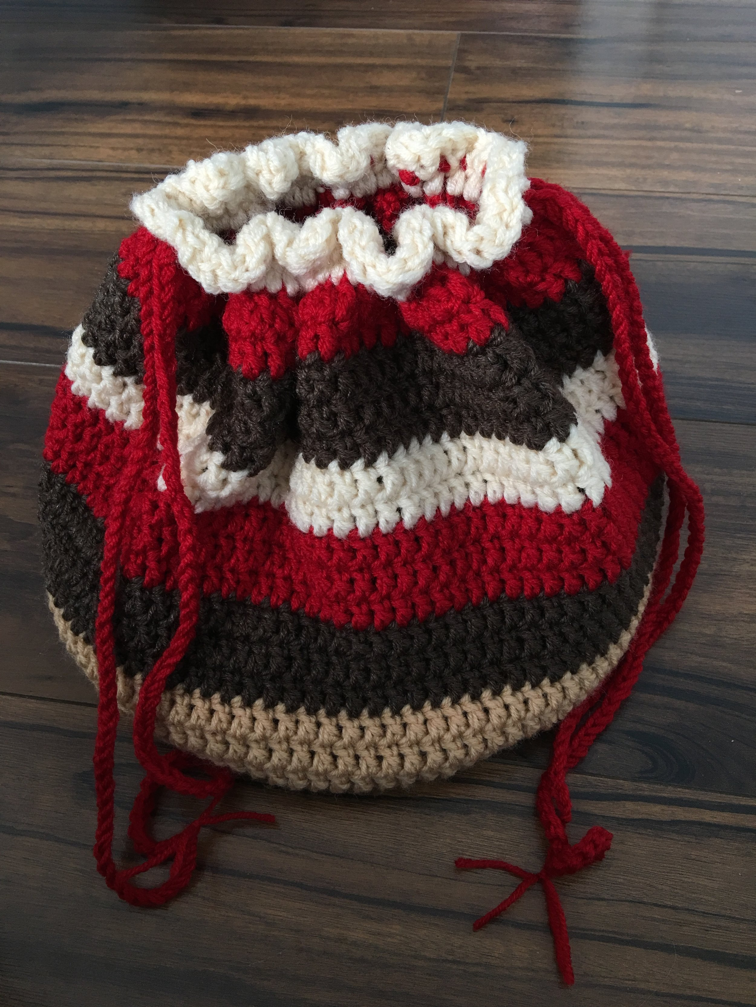 Simple Crochet Bag Free Pattern