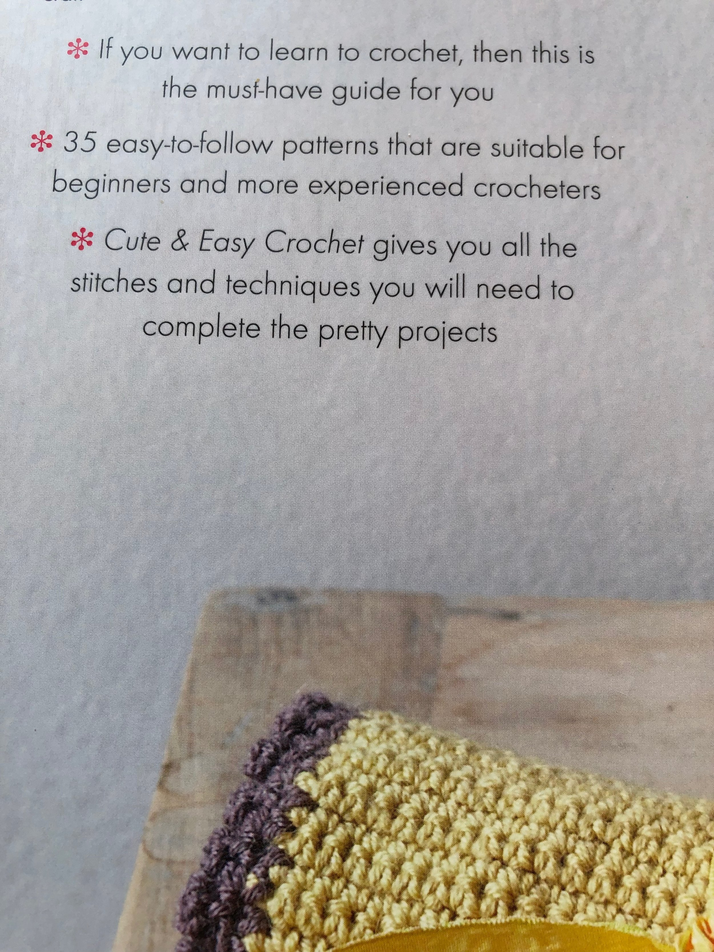 Cute and easy crochet book