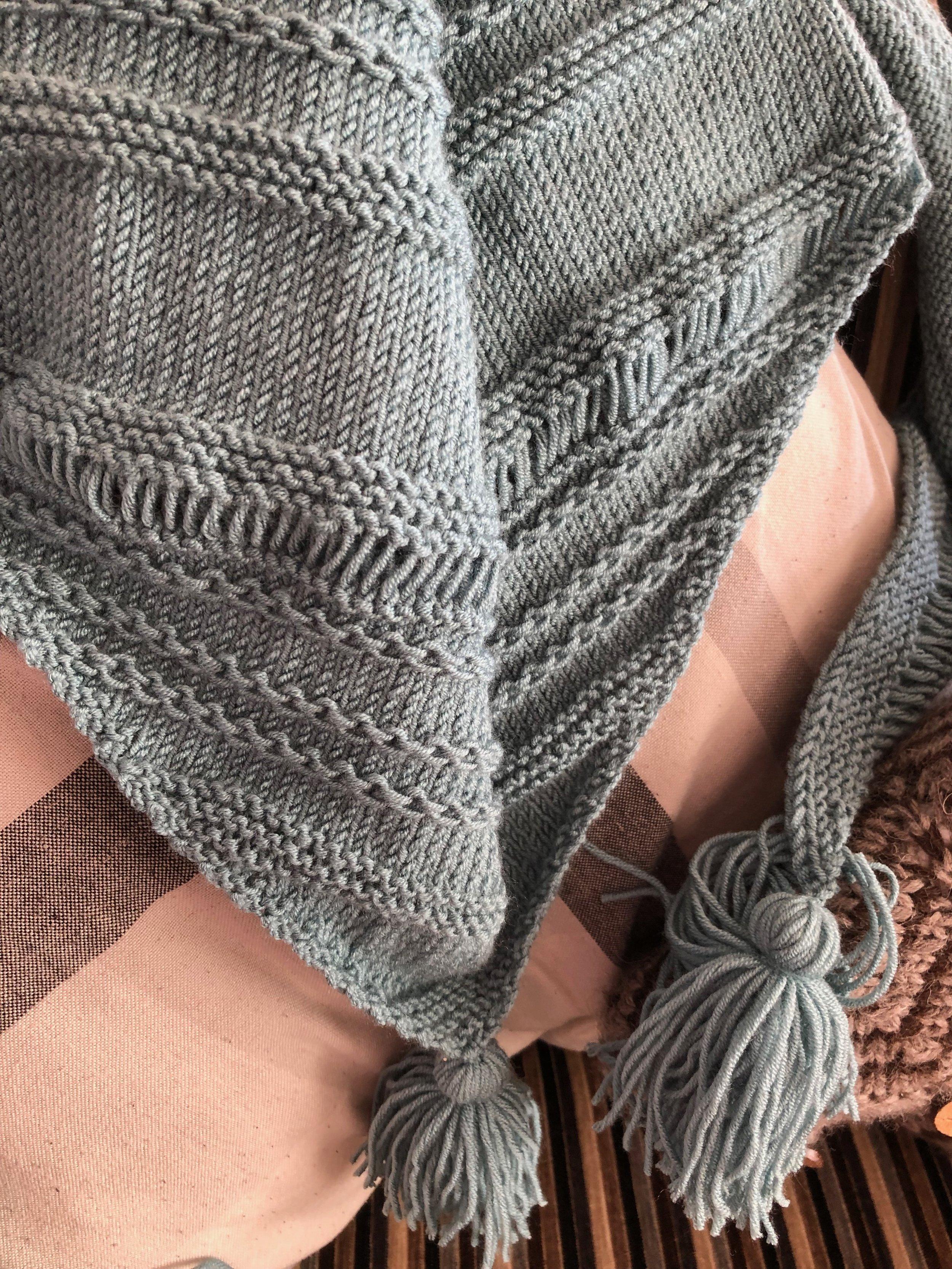 Chain Reaction Shawl Knitting Pattern