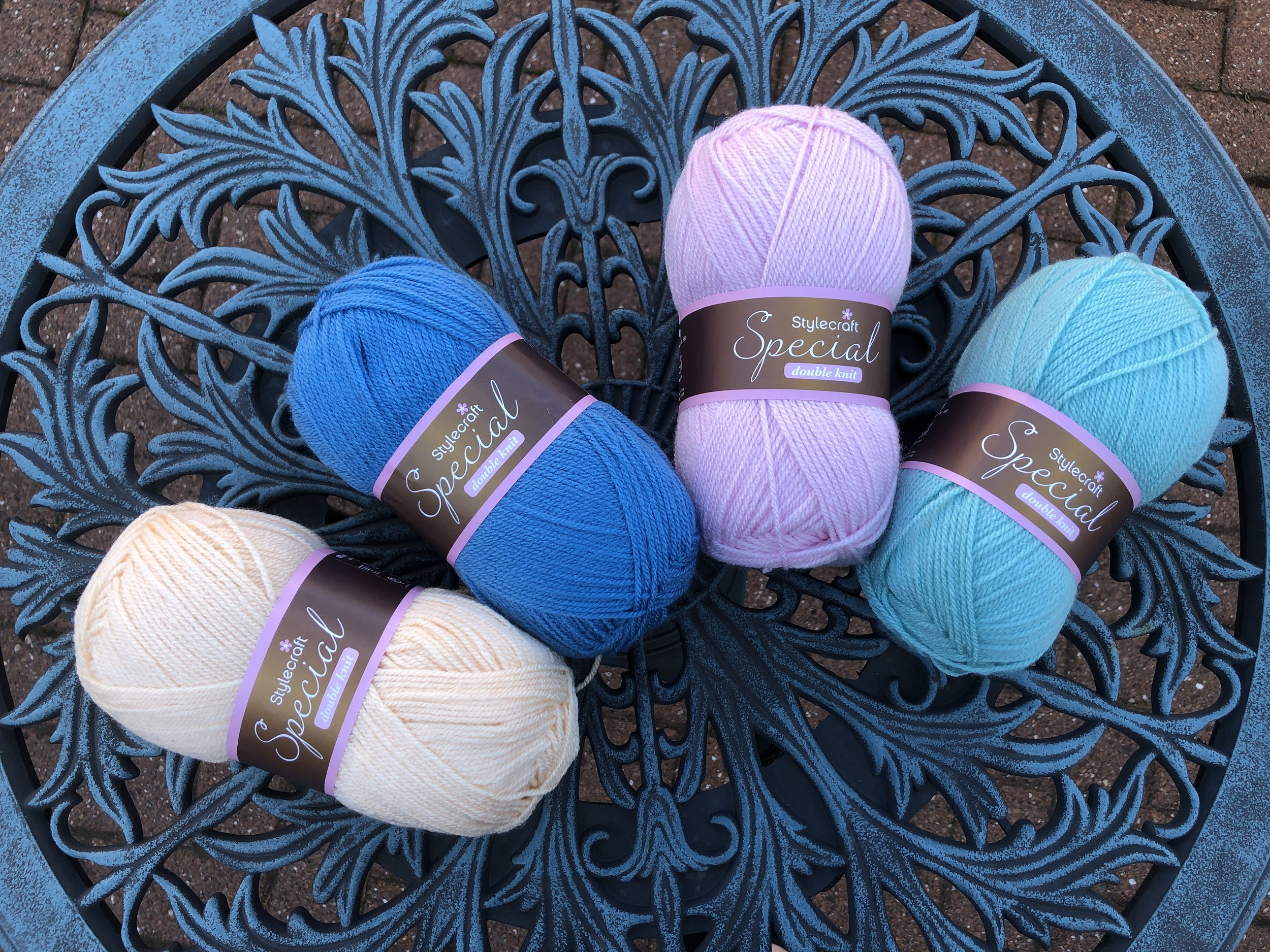 New Stylecraft Special DK colours