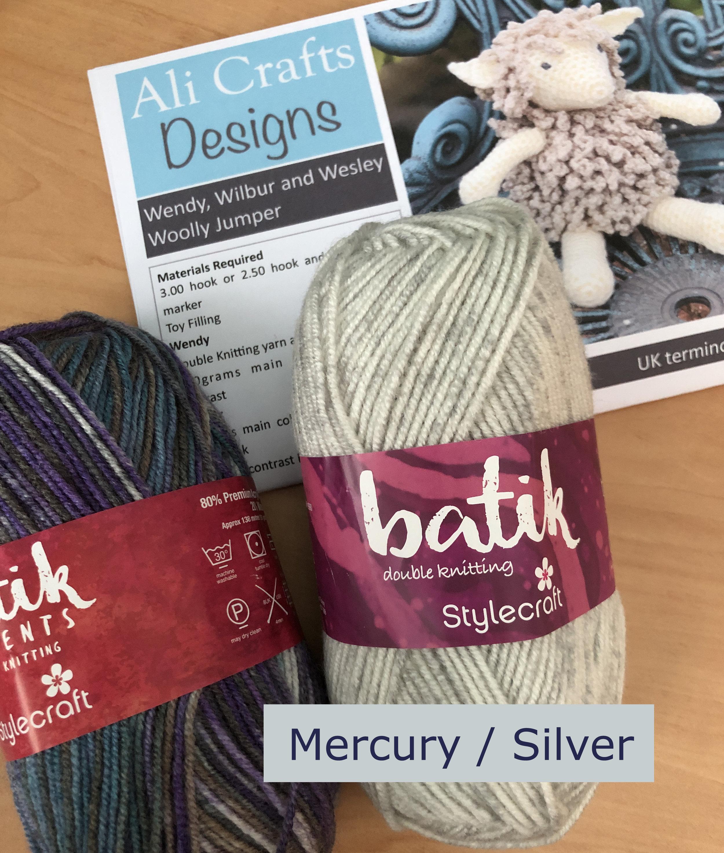 Wendy sheep crochet kit