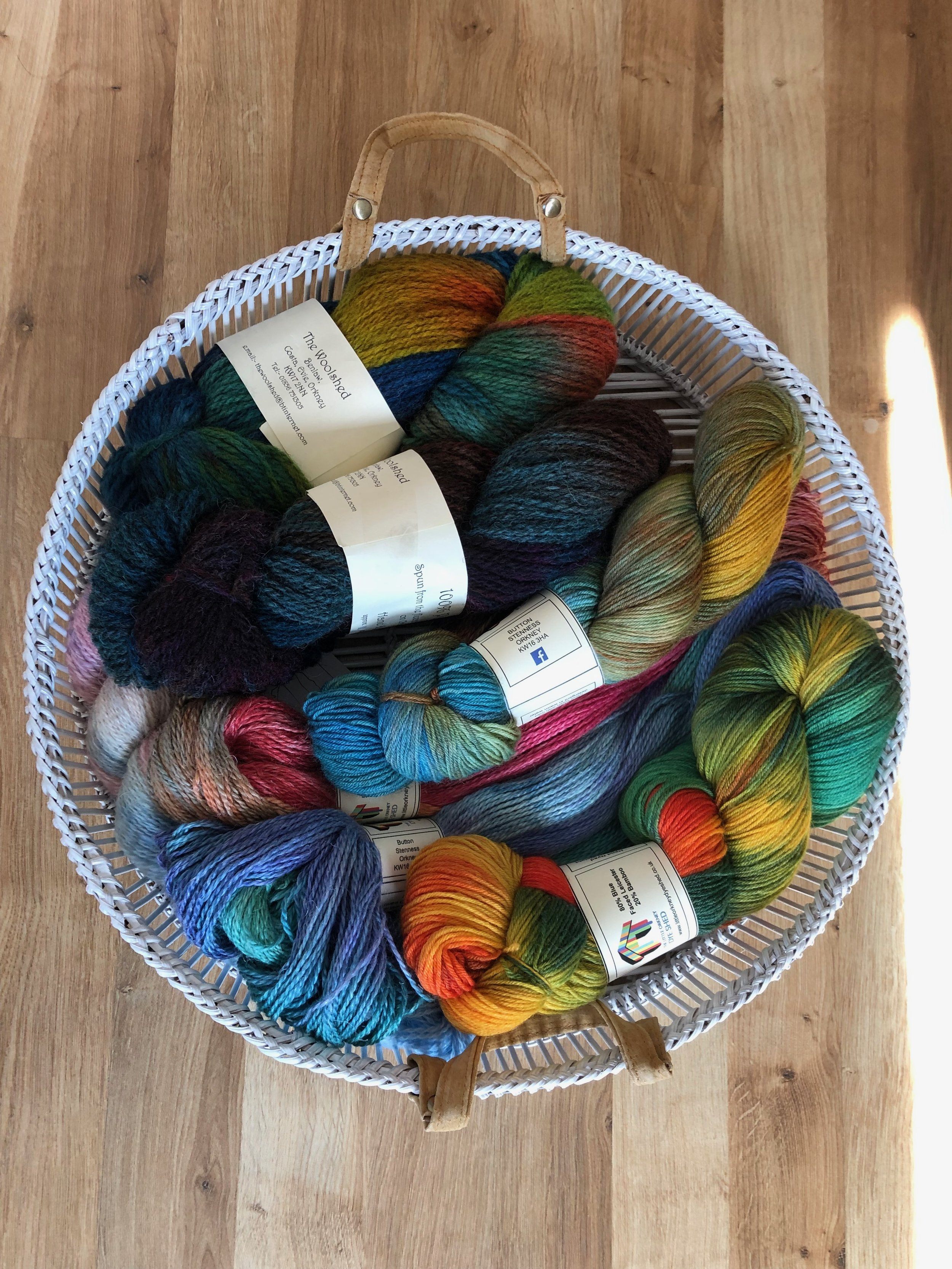 Wool buying in Orkney