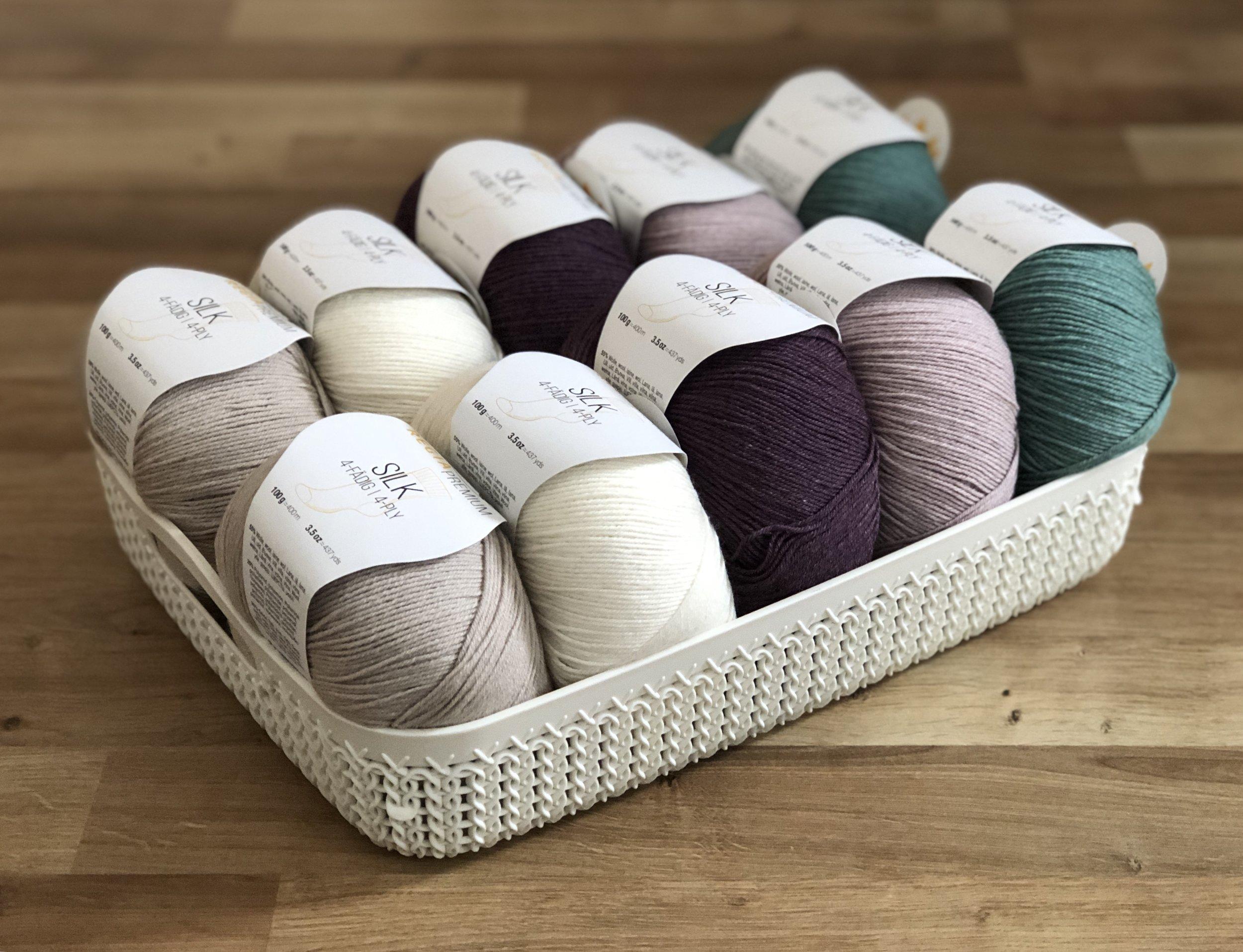 Regia 4ply silk sock yarn