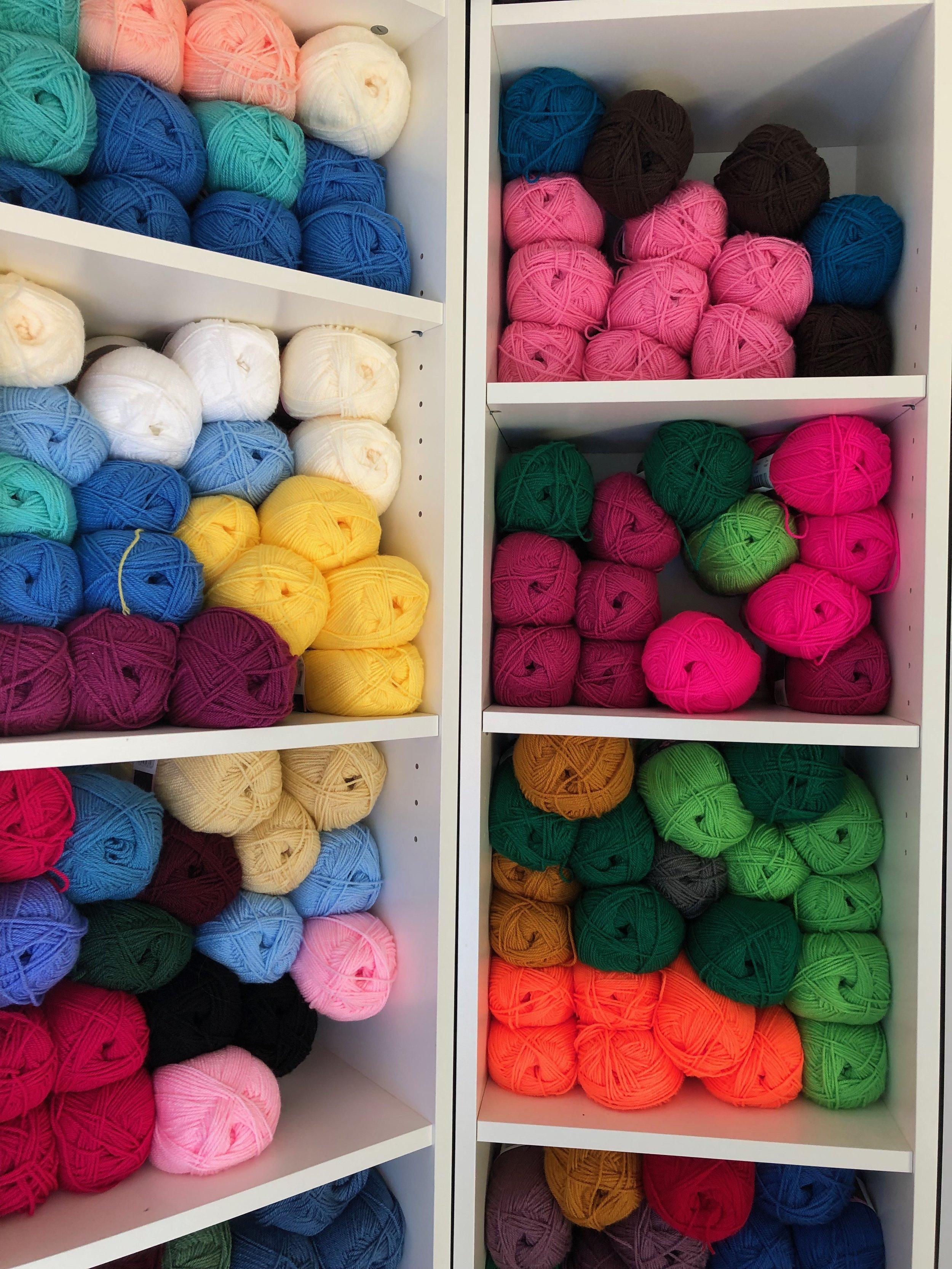 Lots and lots of yarns
