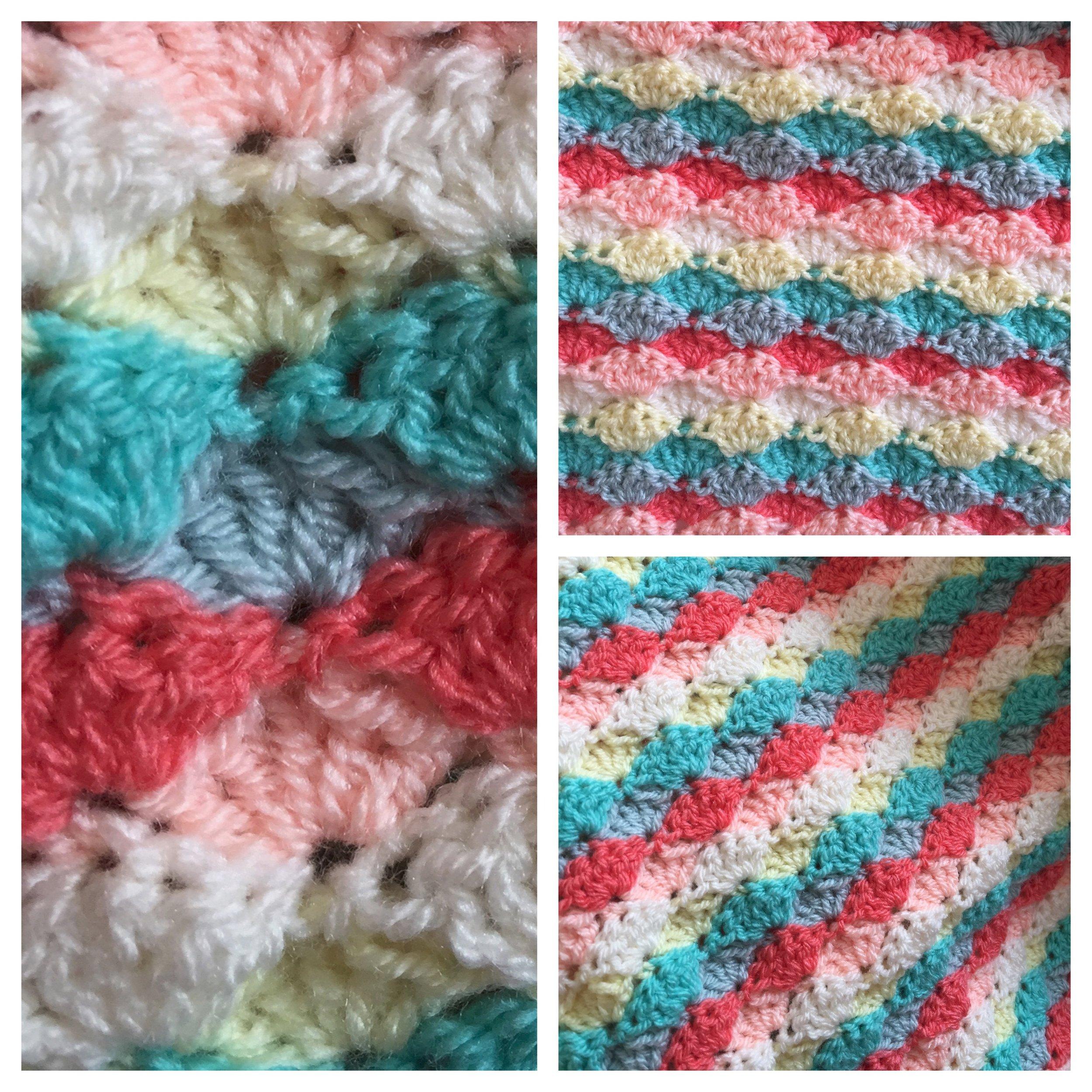 Brighton Blanket Crochet Patterns