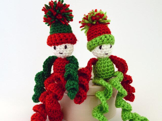 Ernie the Elf - Crochet pattern