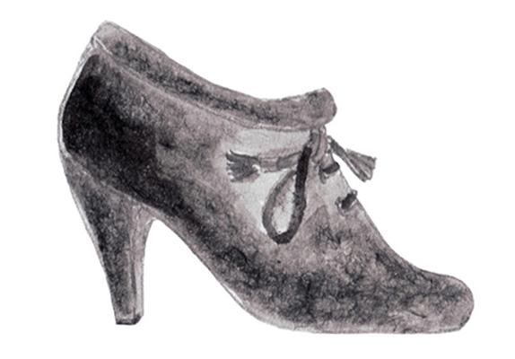 Illustration, shoes
