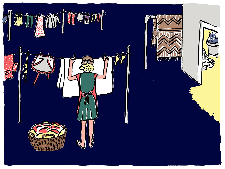 Illustration, laundry