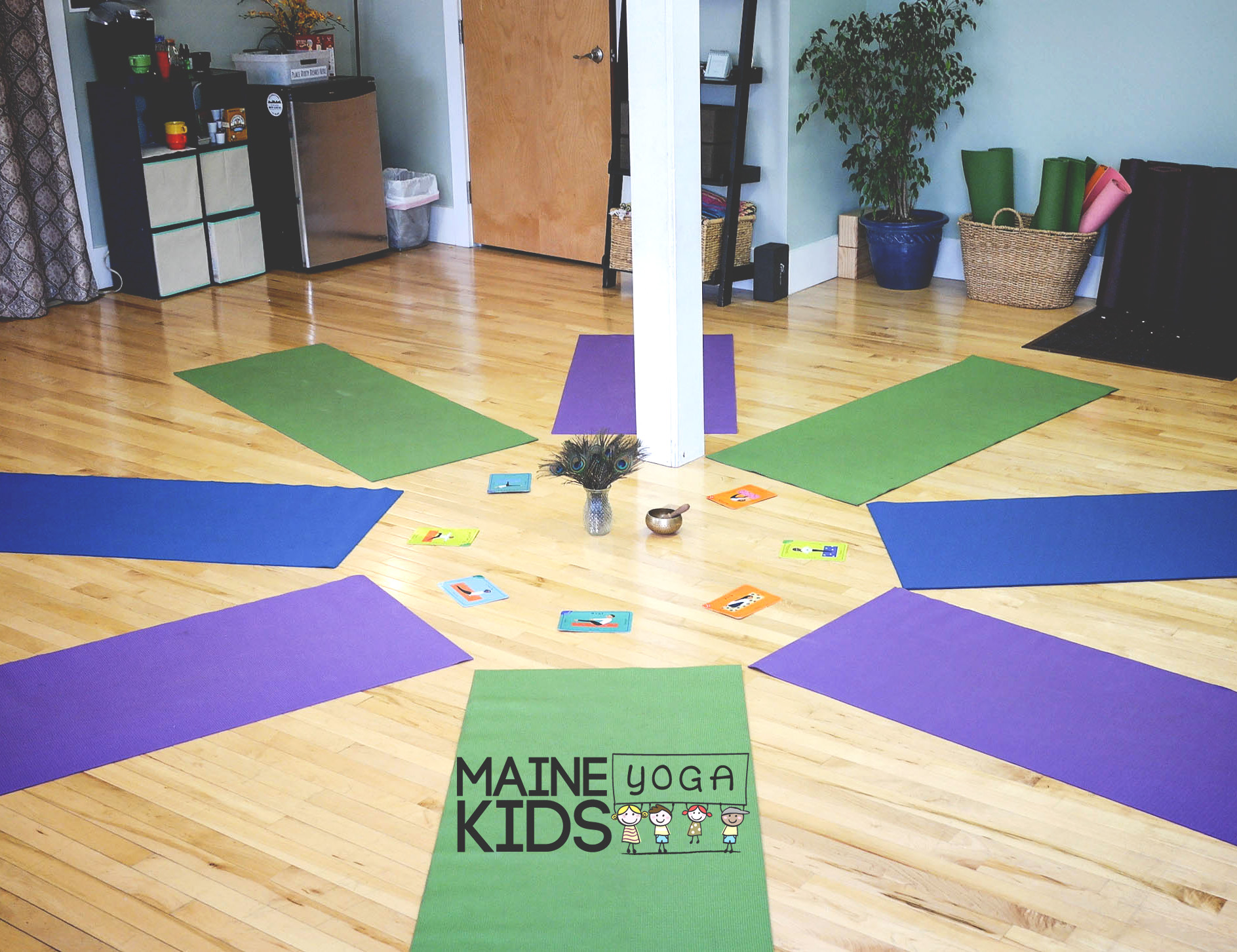 other offerings from Maine Kids Yoga - In addition to our studio classes, we also offer yoga in the community and in local schools, host yoga birthday parties, teach ZenPlay Wednesdays with the West End Village School, offer private yoga sessions, and teach workshops.