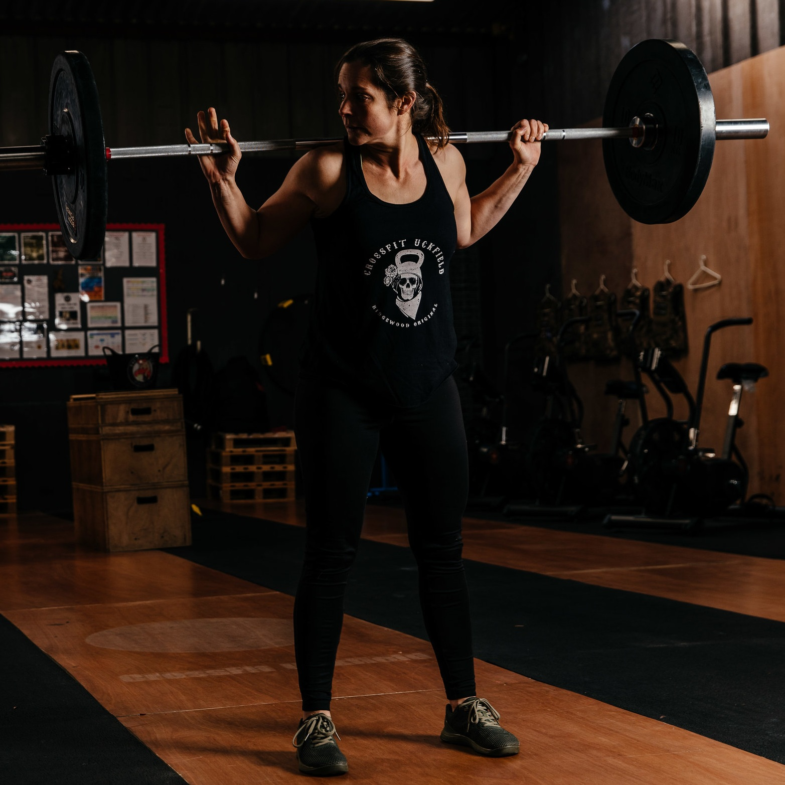 """""""What I love about coaching CrossFit is that I can make any workout accessible for any age and any ability"""" - COACH MAGGIE"""