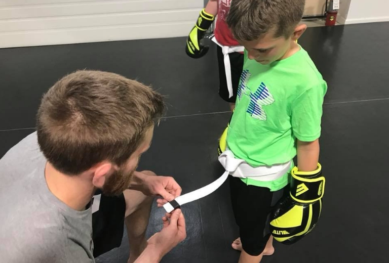 SoMich Kids - Not all kid's martial arts programs are created equally. Our Kid's Krav Maga focuses on non-traditional martial arts, no Karate here, to give them necessary skills to combat real-world hardships. Want your child to experience this fun, engaging, and multi-beneficial training for all skill levels? Call or email us today for a FREE trial class!