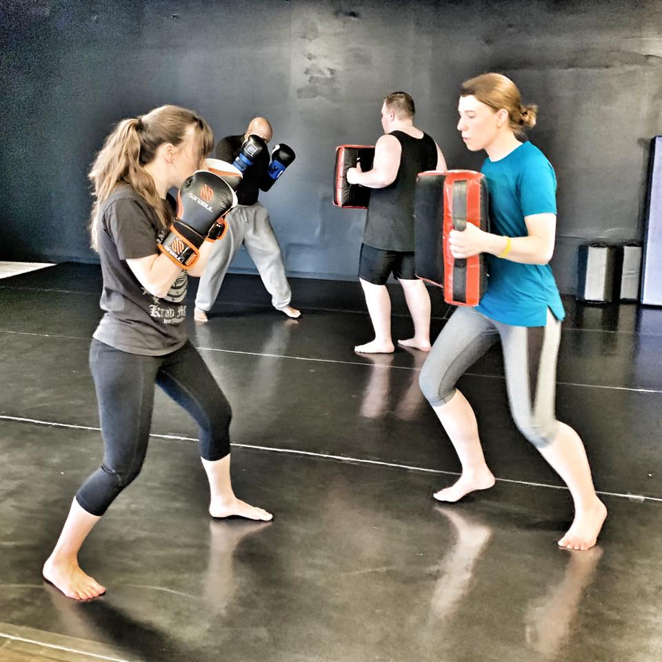Ladies Only Program - Ladies Only Self-Defense Program. Krav Maga is the most efficient and effective Self-Defense method in the world. This six-week program will teach you the foundations you need to keep yourself safe. All fitness levels welcome! Currently running every Tuesday from September 10-October 15 at 6:00pm, ages 13 and up. $99 per person, includes boxing gloves. Register now by phone (734-775-6581), or email us at brandon@somichmaa.com.