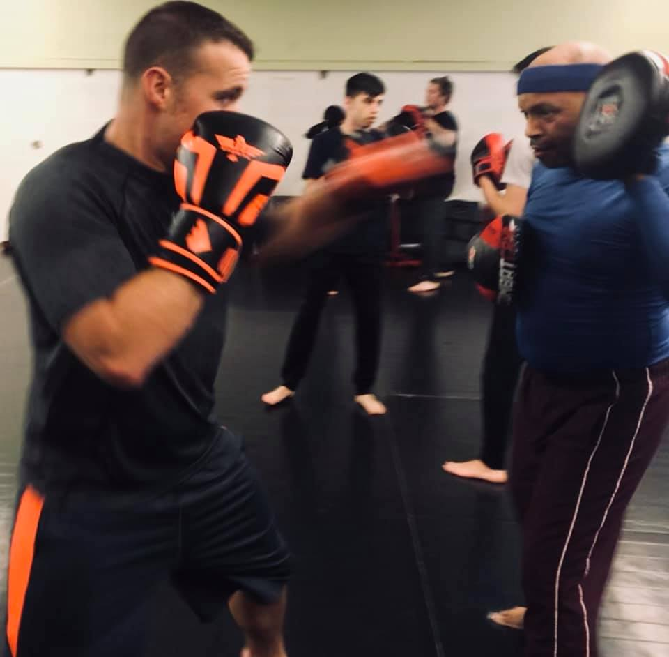 Boxing - Boxing is one of the oldest forms of martial arts and the ultimate full body work out. This is a traditional boxing program that includes mitt work and sparring. Great work out for cardio and strength training. Will improve your body composition and its a great stress reliever! Run by Coach Brandon and Coach John.