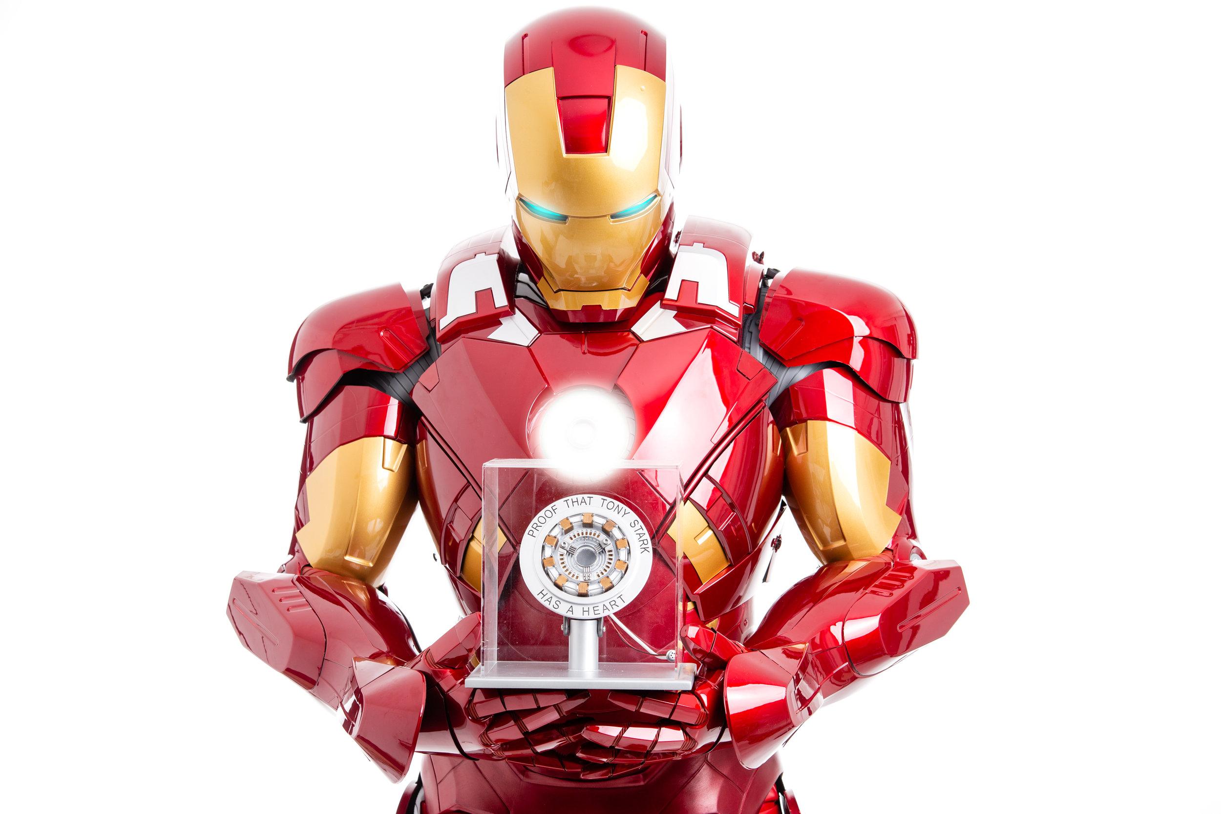Paul McDowell is Iron Man at ELM Photo Studio