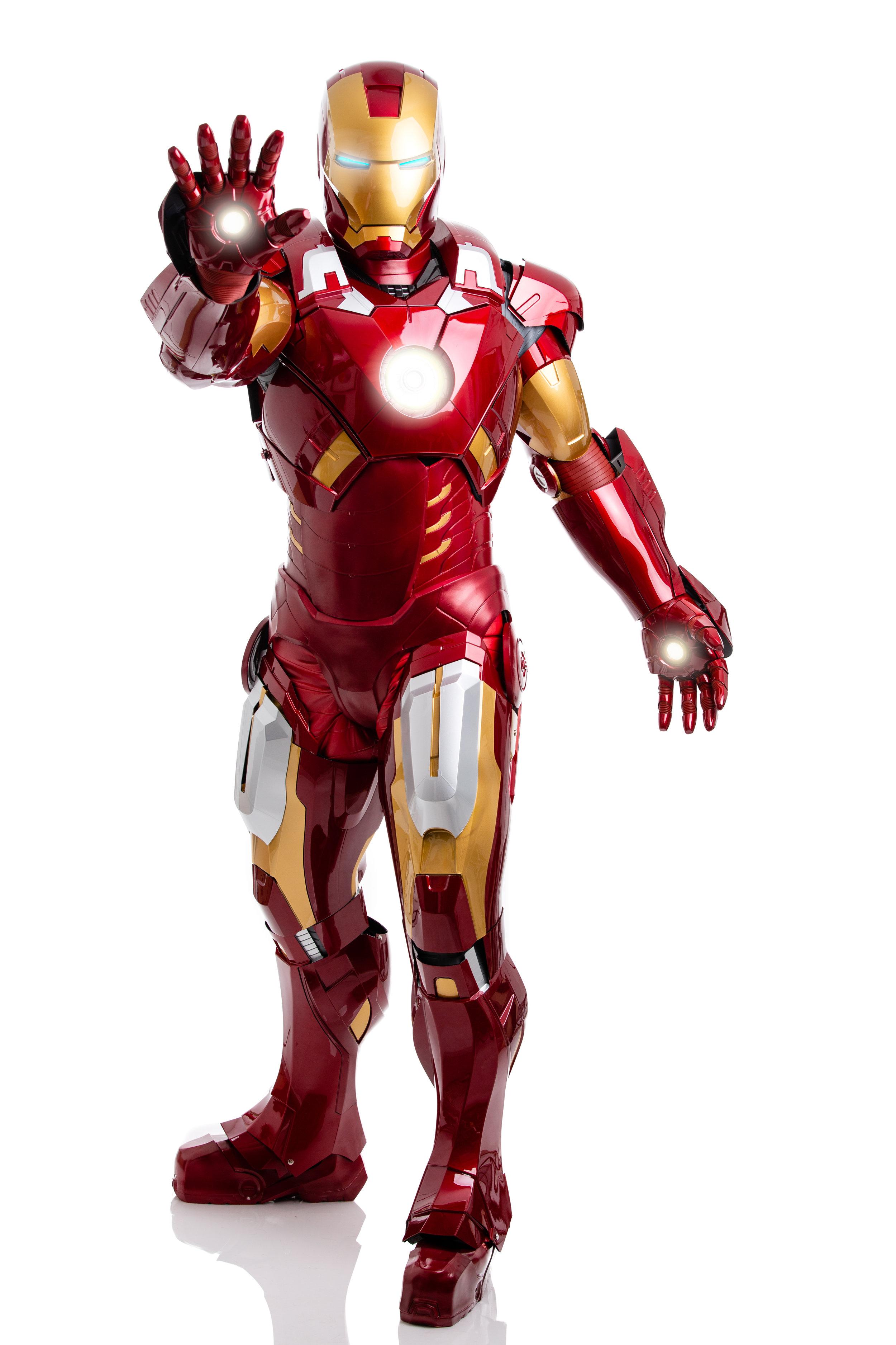 Iron Man (Paul MacDowell) at ELM Photo Studio