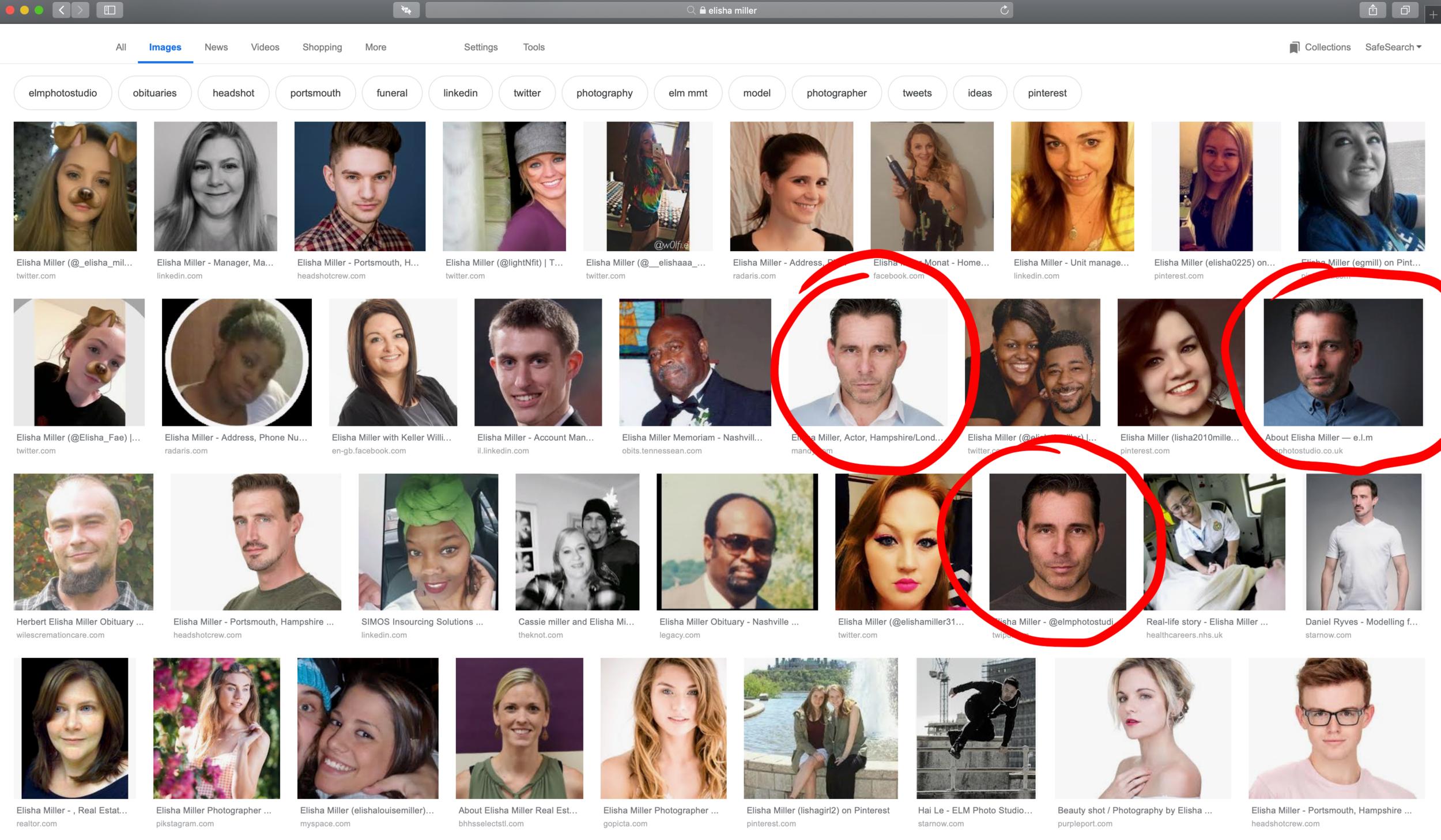Elisha Miller Google Search