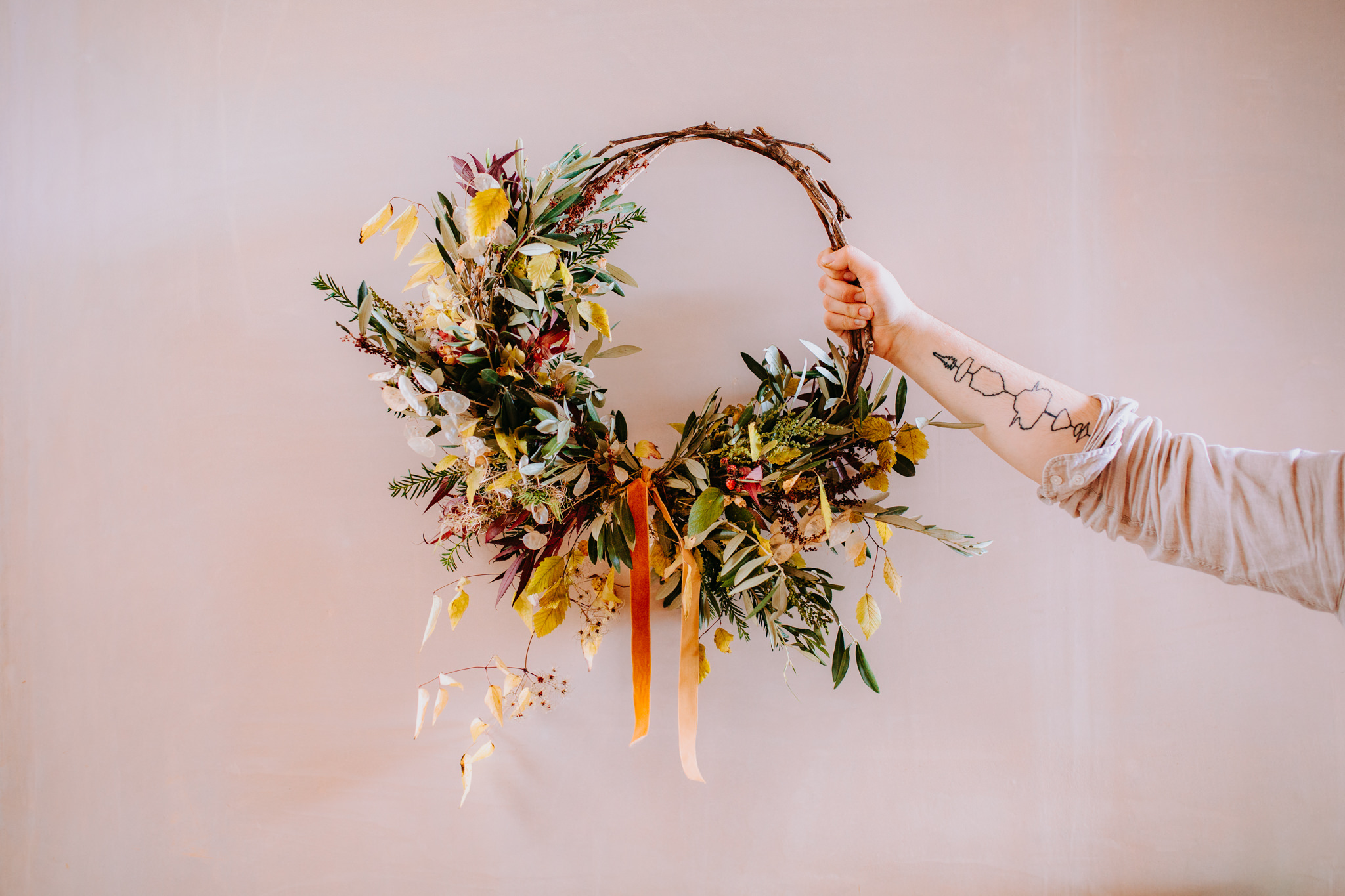 FESTIVE WREATH WORKSHOP - THURSDAY 22ND NOVEMBER @ 6.30PM