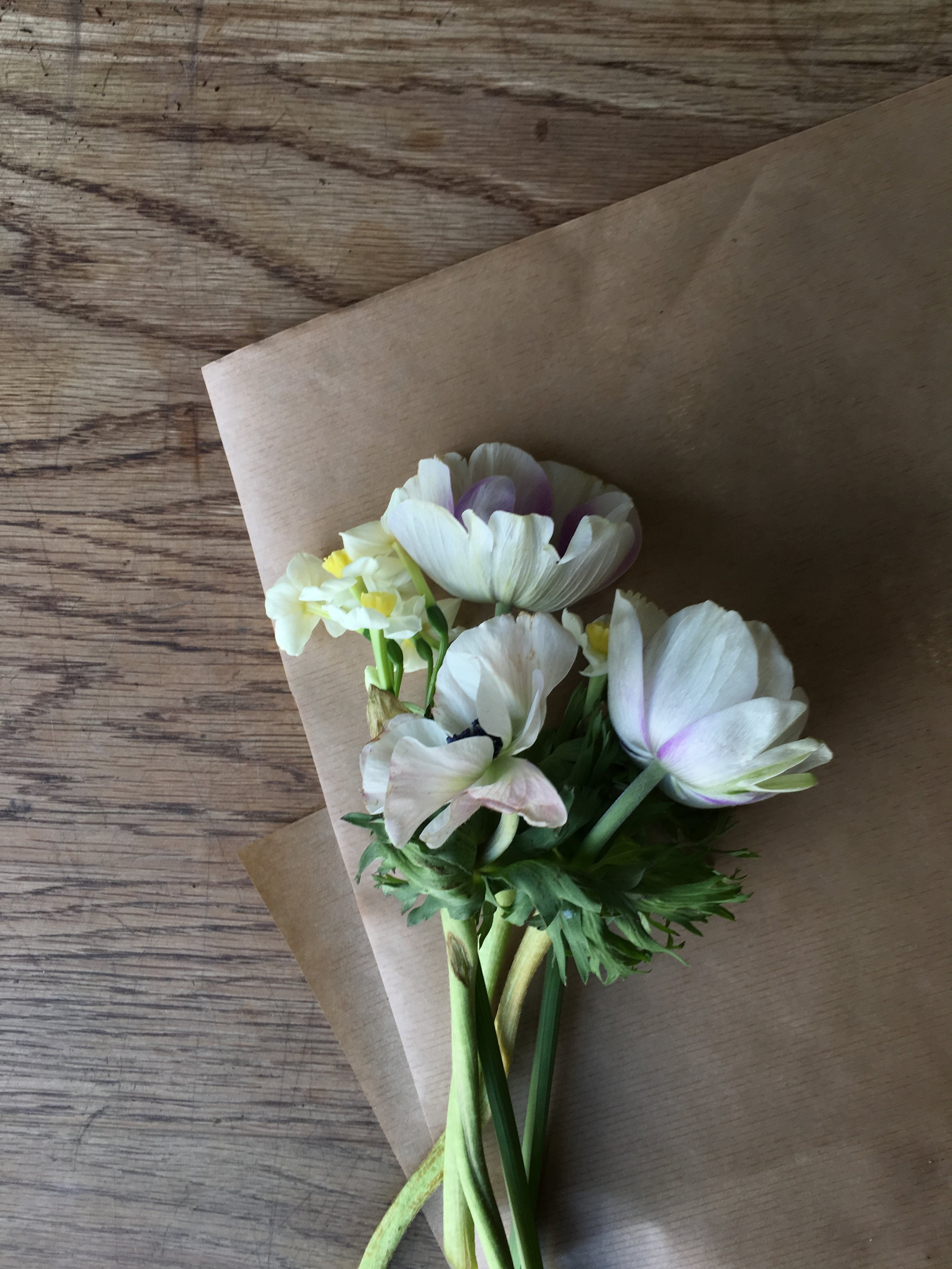 SMALL WRAPS AND POSIES - From £10.00Pre order online