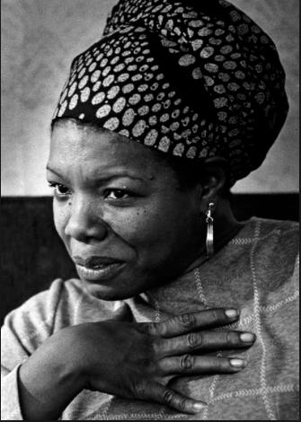 Maya Angelou ·  Credit: Craig Herndon, Washington Post)