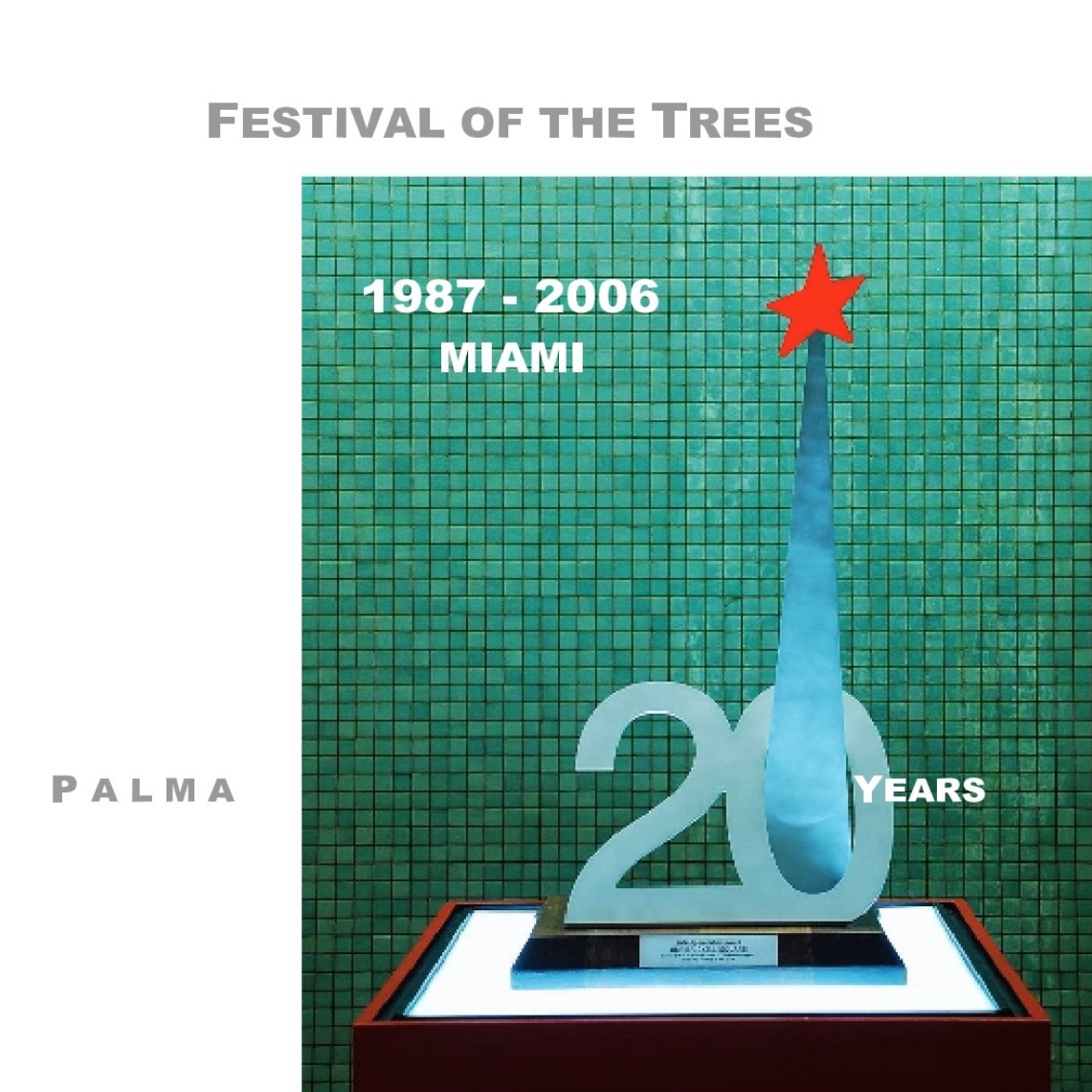 "festival of the trees - the first 20 years 1987-2006 of the event that became miami's official opening of the christmas season. architects and interior designers design, build and exhibit their interpretation of the christmas tree.7"" x 7"" square formatpreview and purchase at blurb.com"