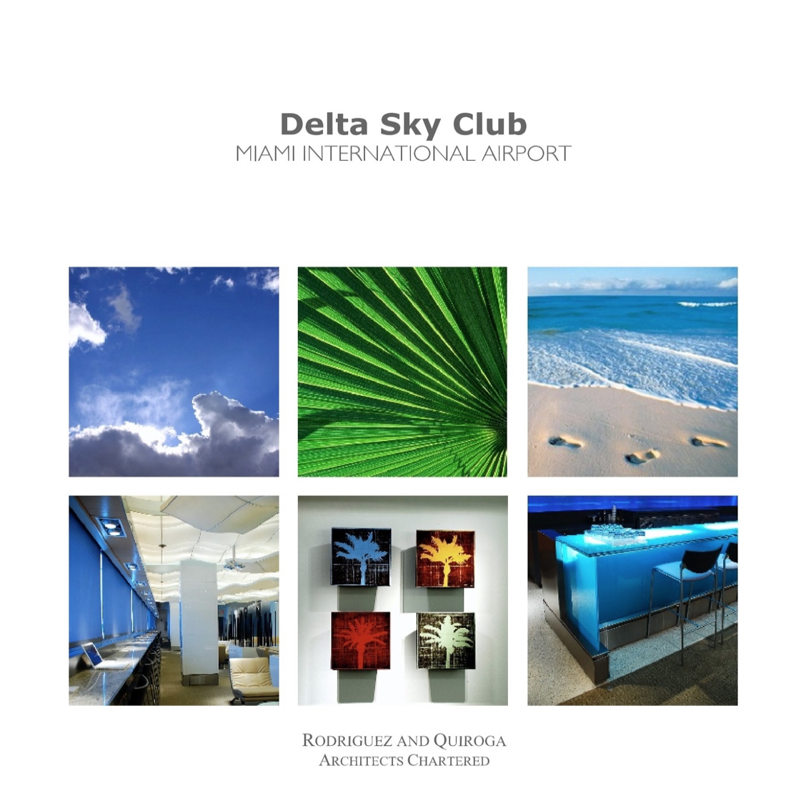"delta sky club - airline club - inspiration . design . completion12"" x 12"" square format"