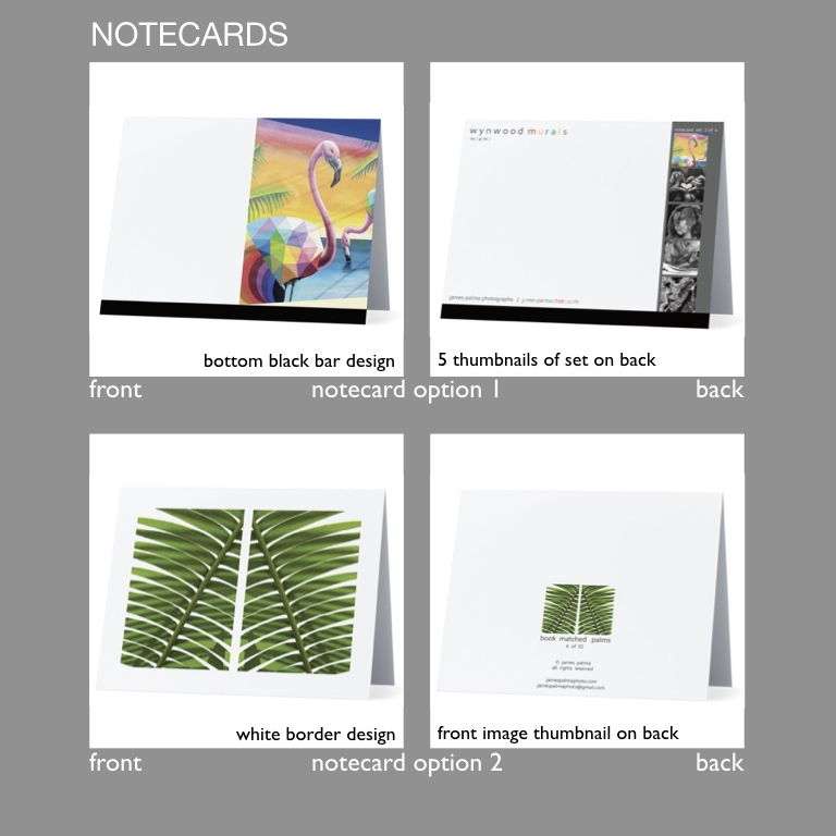 "notecards - - 5.5"" x 4"" horizontal folded notecards- glossy finish front and back- blank white inside matte finish- 5 plain white envelops included- 1 postcard included- in sets of 5 different images- each set in a clear plastic box"