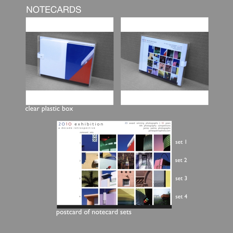 NOTECARDS - - notecard sets available for any of the portfolios