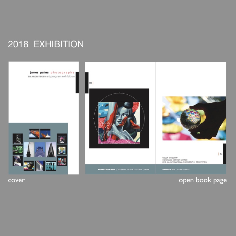 TRADE BOOKS - exhibition catalog of the 14 metal prints for the sb architects art program exhibition december 2018 - january 2019preview and purchase at blurb.com