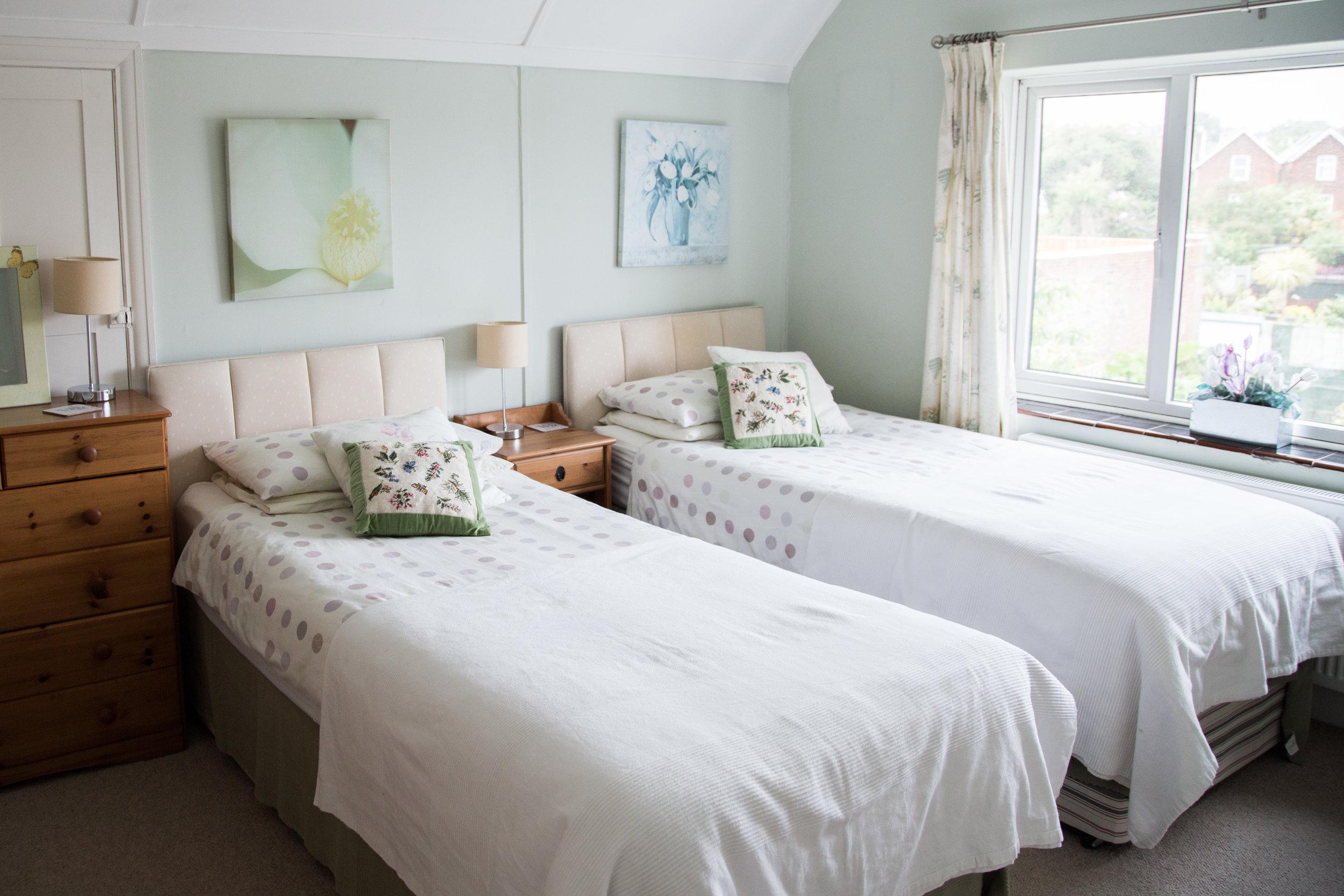 Twin Single room, Isle Of Wight, Sandown