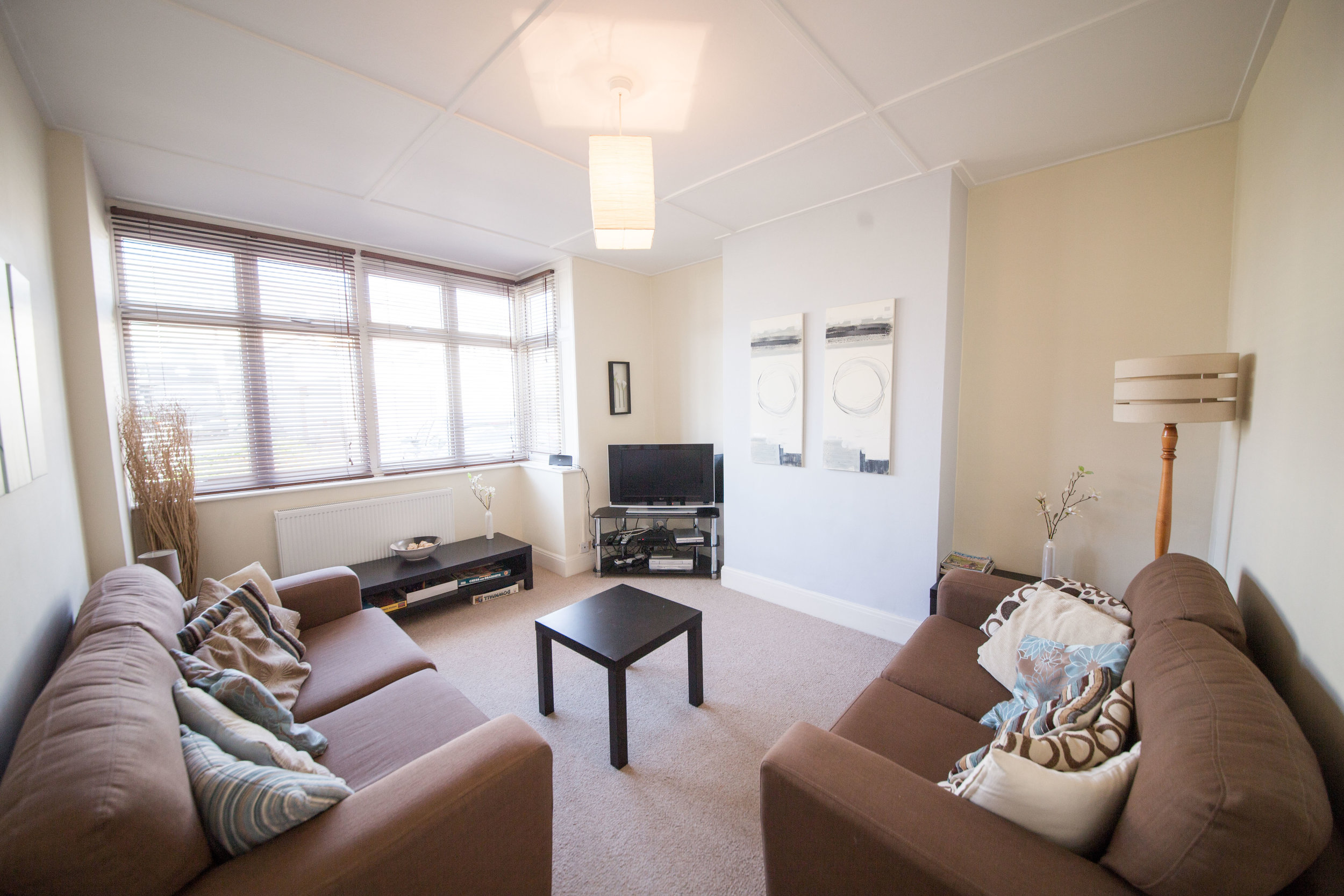 Lounge, 3 Bedroom house Sandown, Isle of Wight