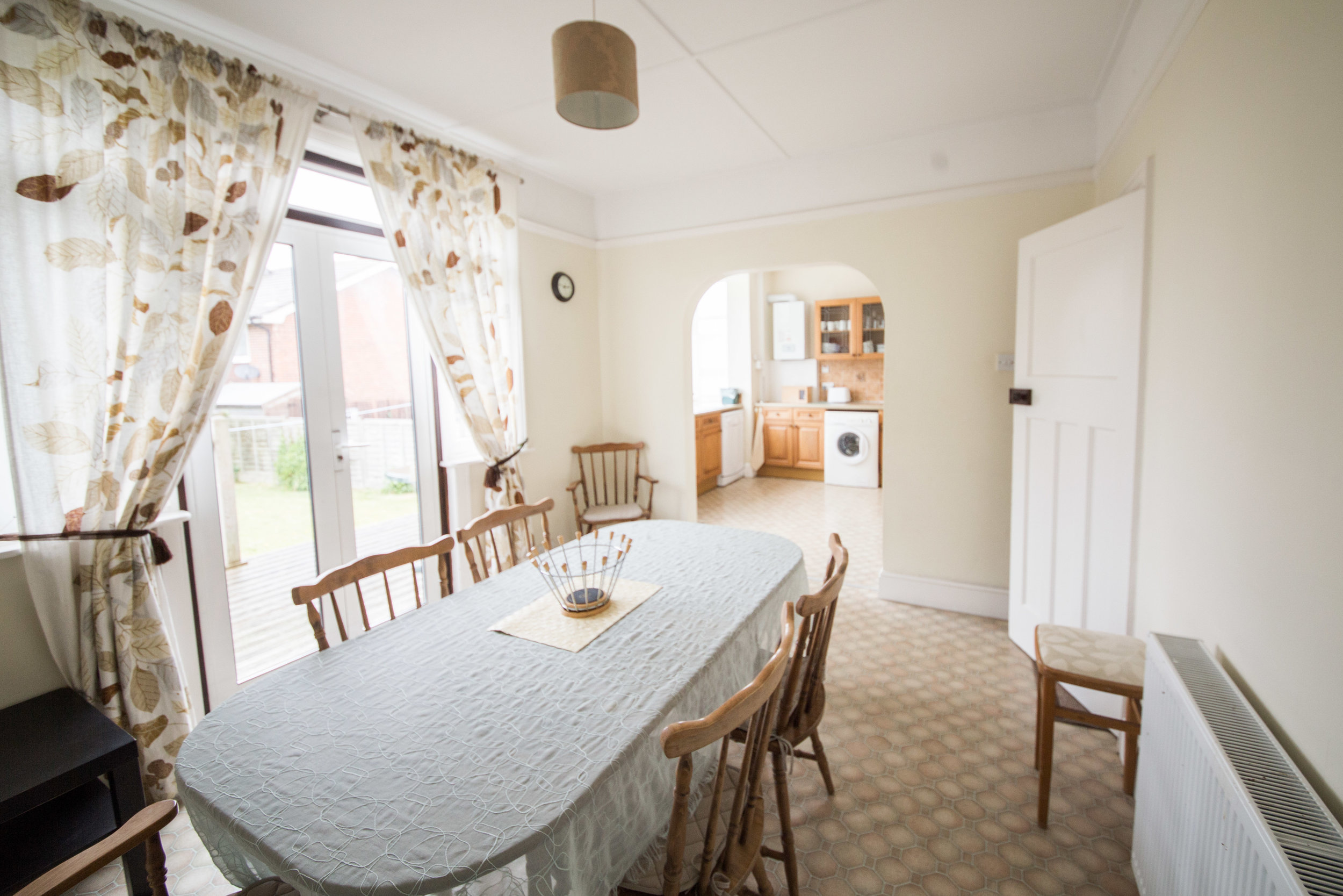Breakfast room, 3 Bedroom house Sandown, Isle of Wight