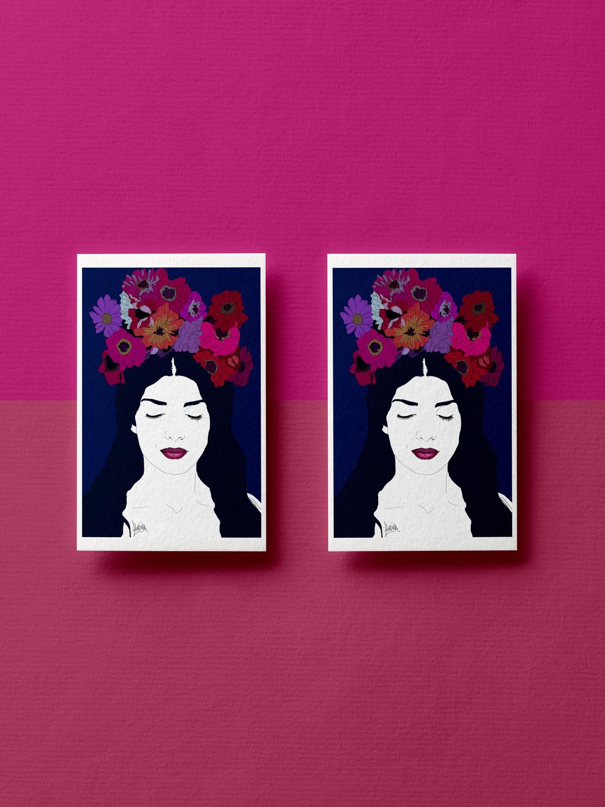 Carte postale - Génération Kahlo Joaquina - Florina Aledo.jpg