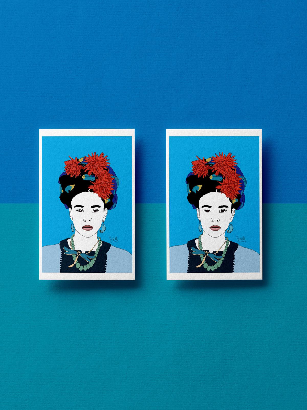 Carte postale - Génération Kahlo Natalia - Florina Aledo.jpg