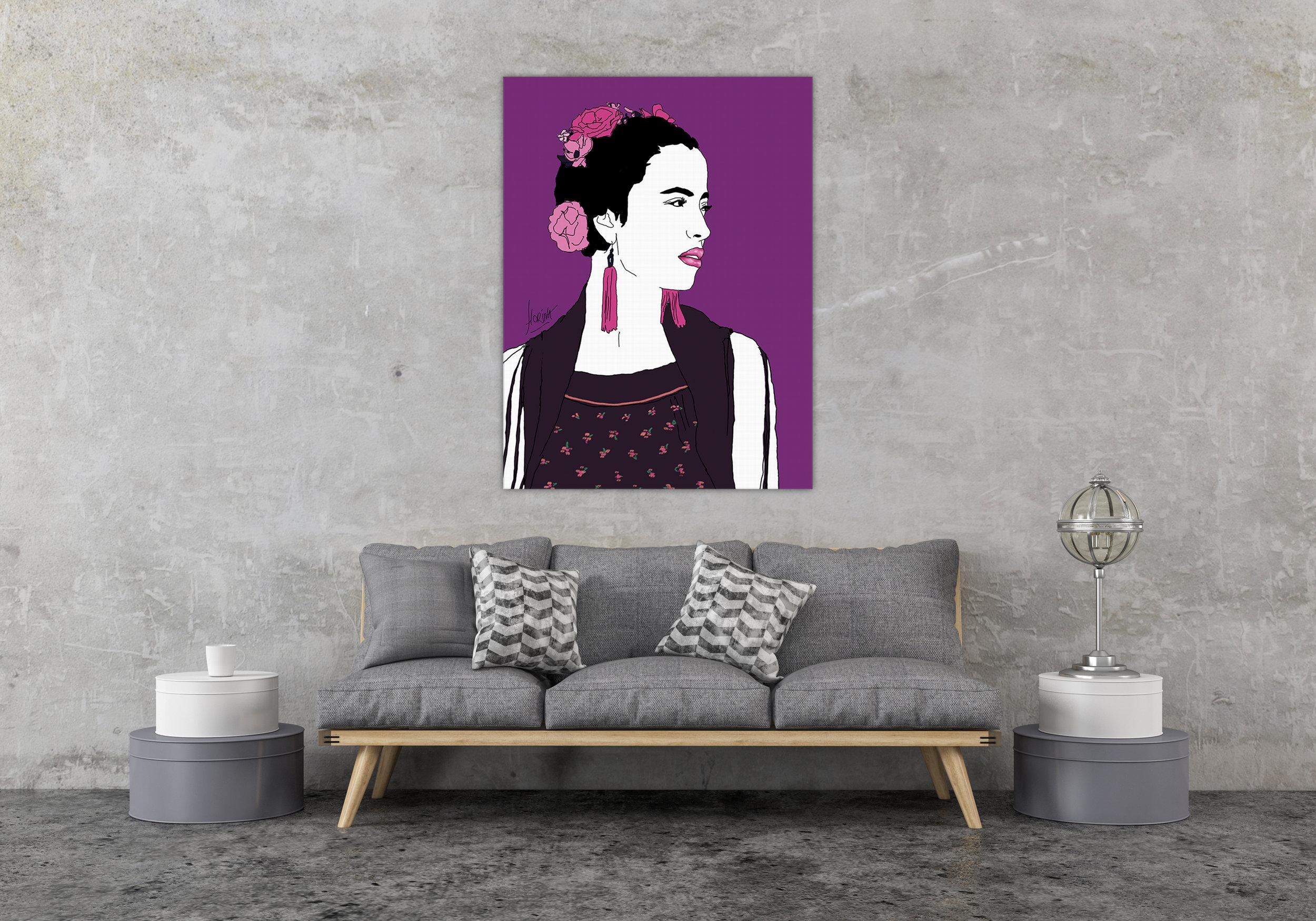 Toile - Génération Kahlo Elin - Florina Aledo.jpg