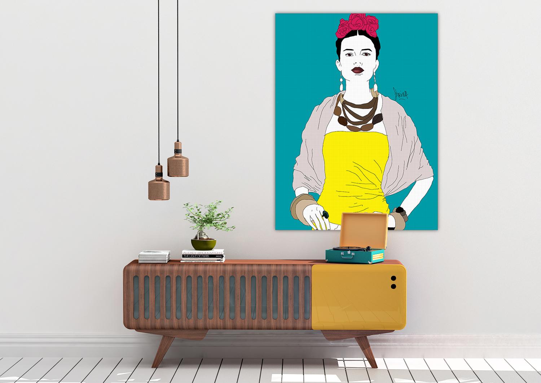 Toile - Génération Kahlo Grace - Florina Aledo.jpg