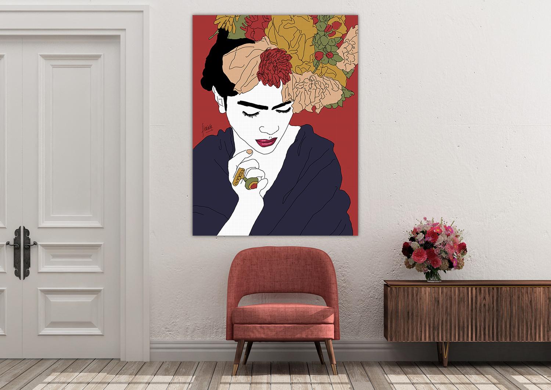 Toile - Génération Kahlo Rakel - Florina Aledo.jpg