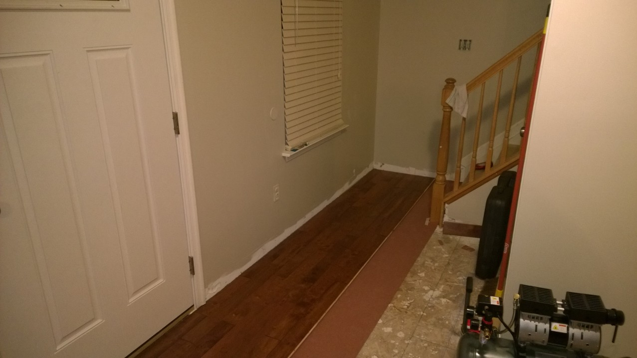 Hardwood Floor and Stair Install