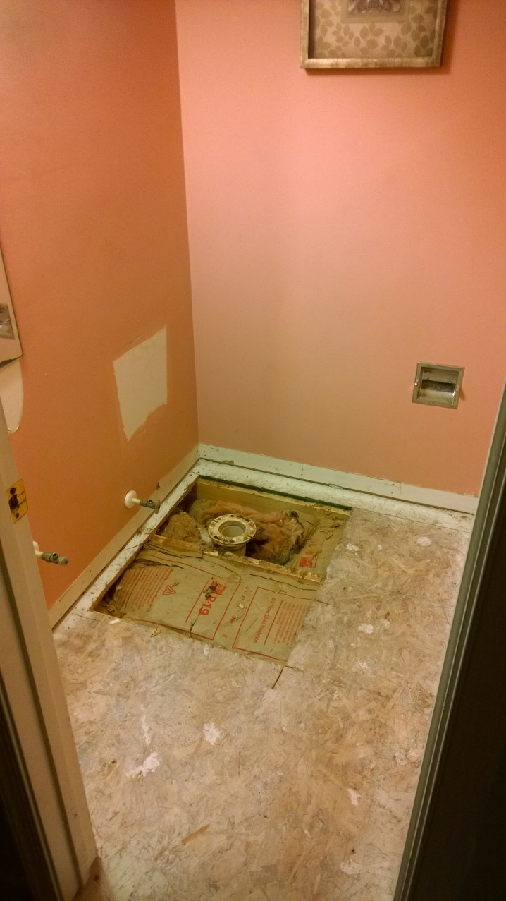 Bathroom Floor Rot Repair